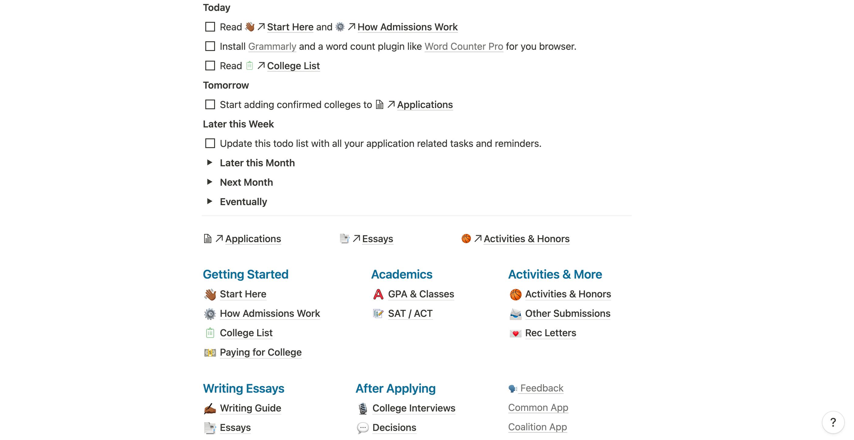 CollegeApp OS