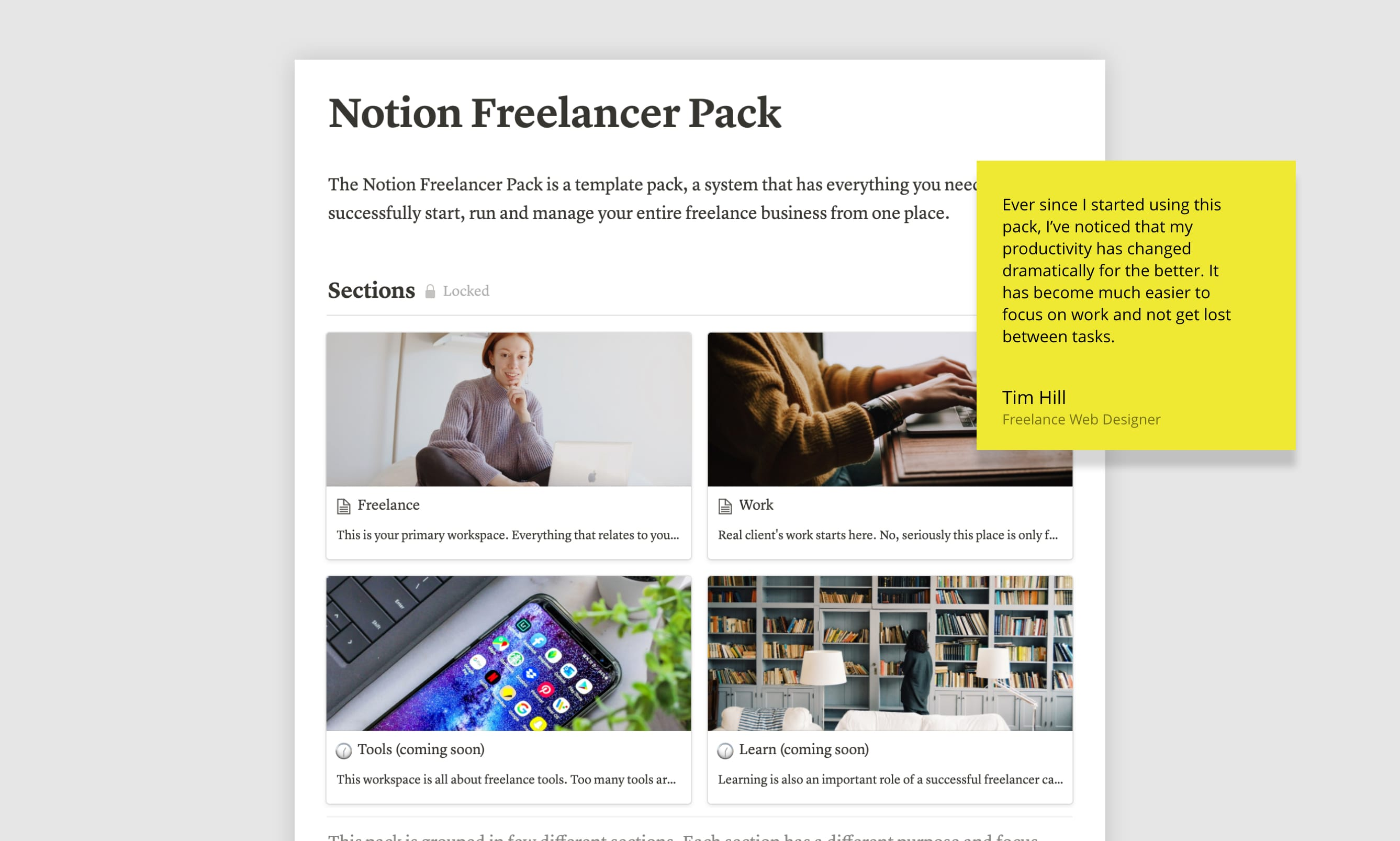 Manage your entire freelance business from one place