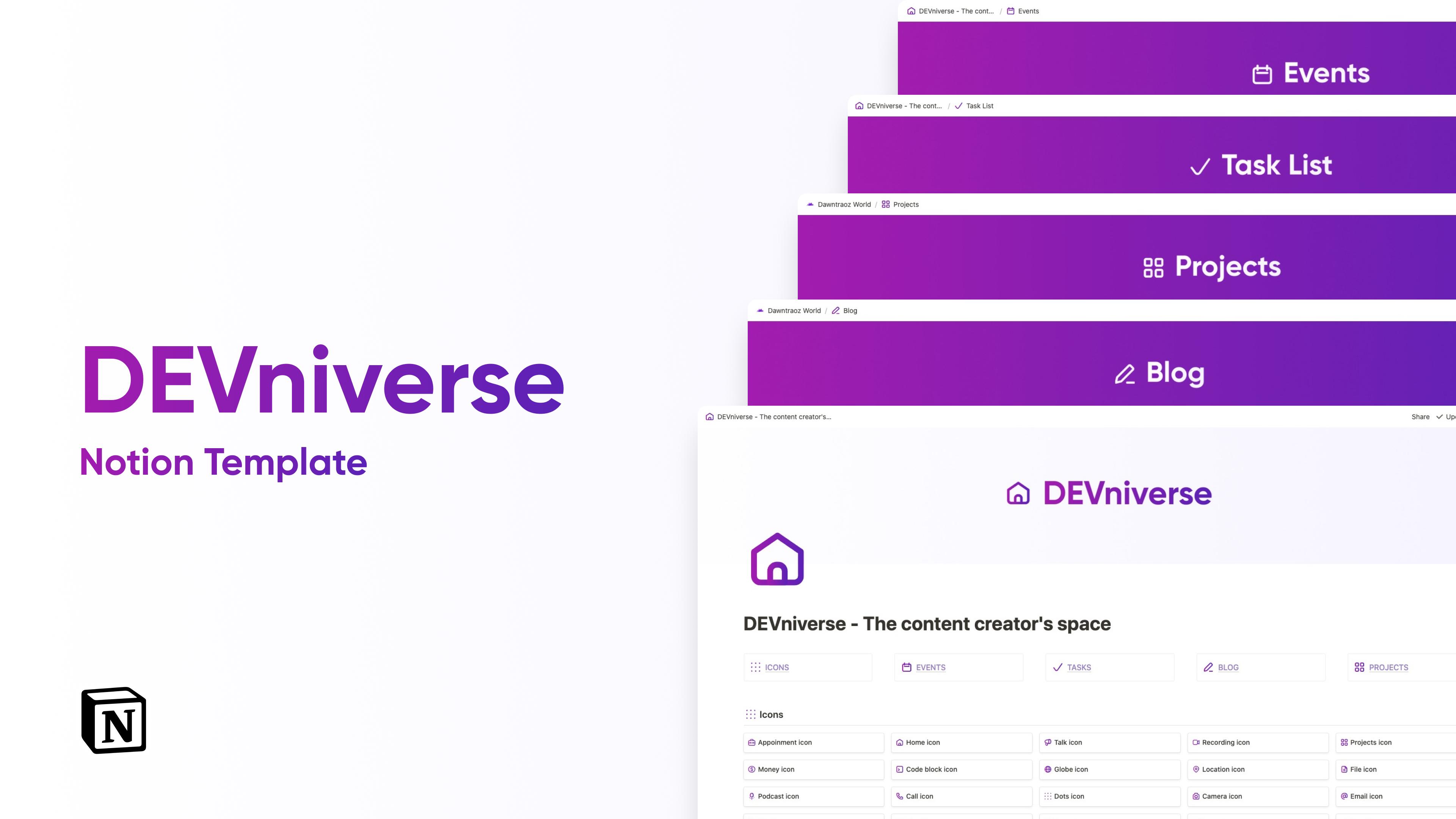 DEVniverse  -  The content creator's space