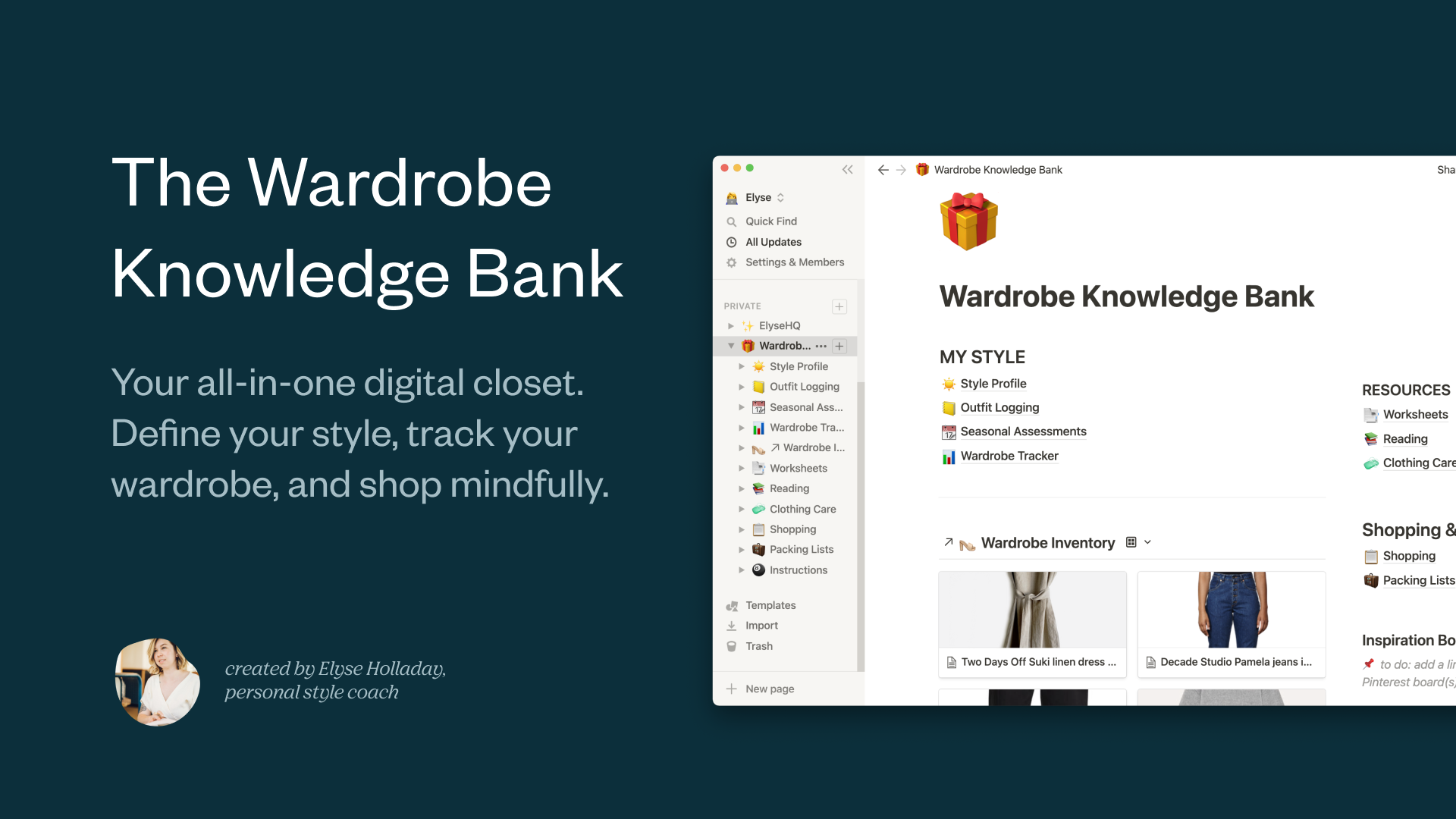 Wardrobe Knowledge Bank