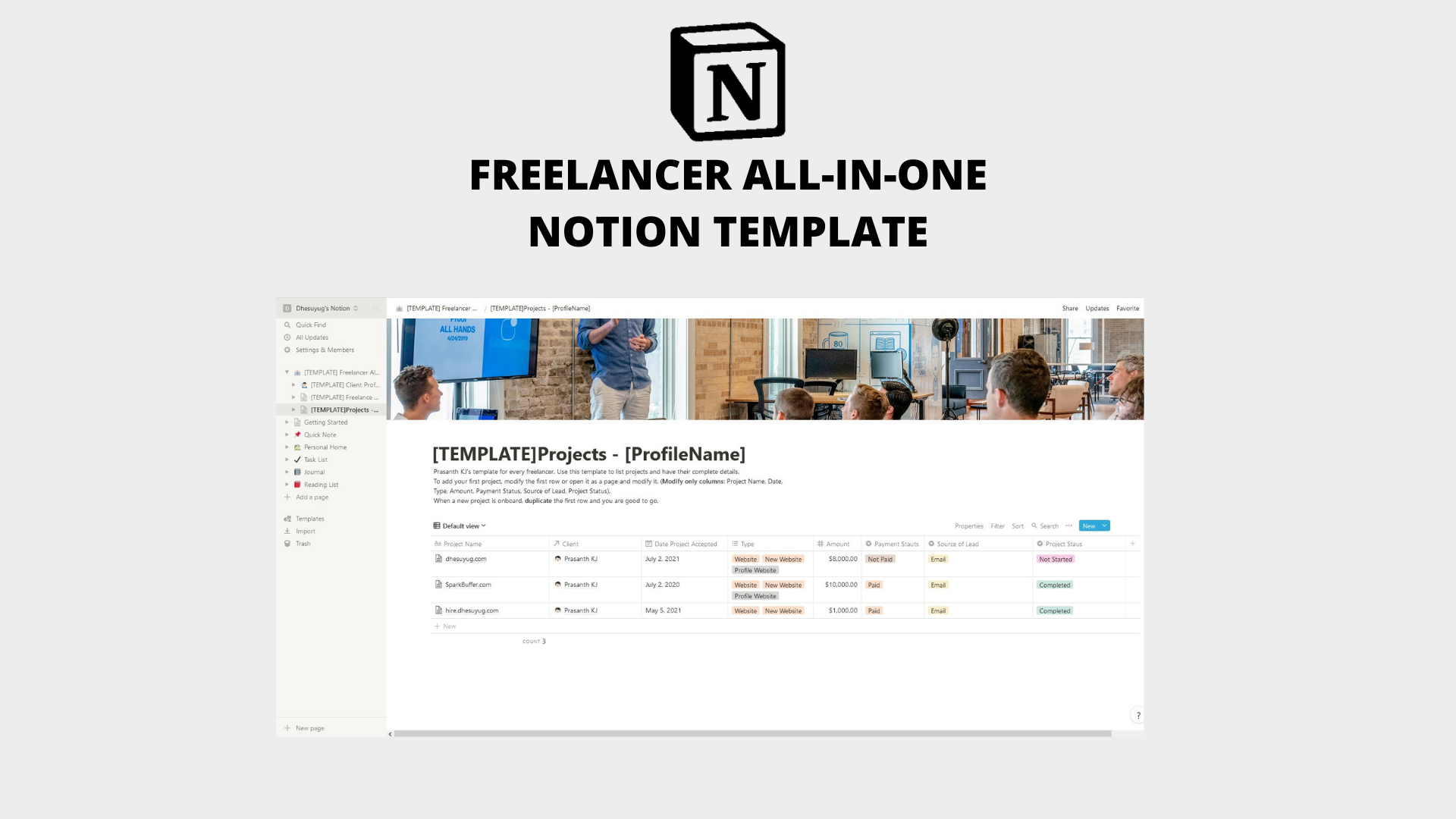 Freelancer All-in-One