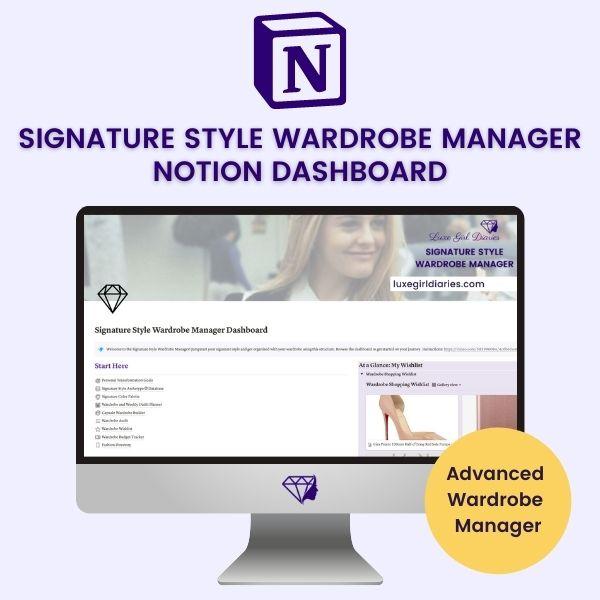 Signature Style Wardrobe Manager
