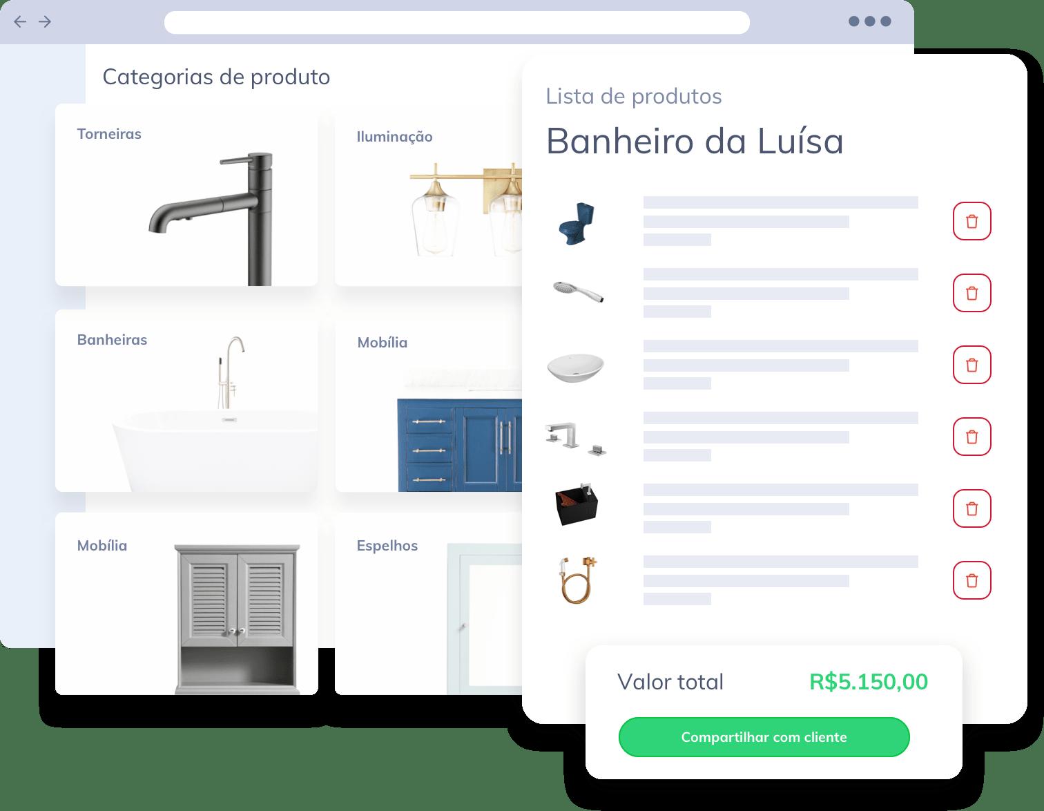 lista de compras vobi arquitetos