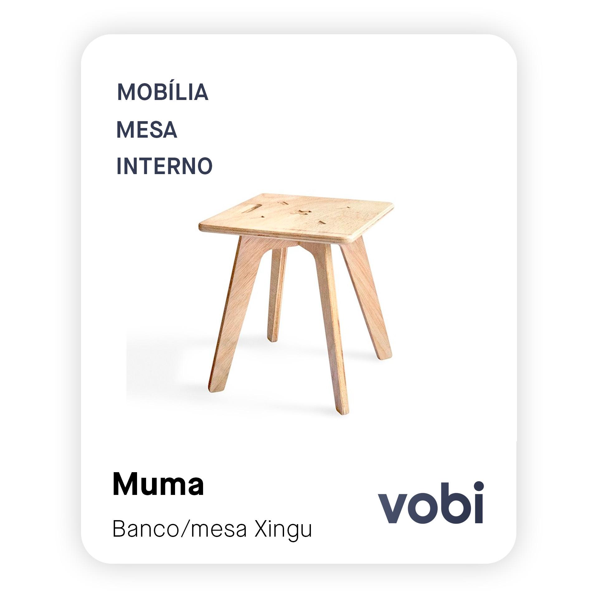 banco mesa lateral madeira