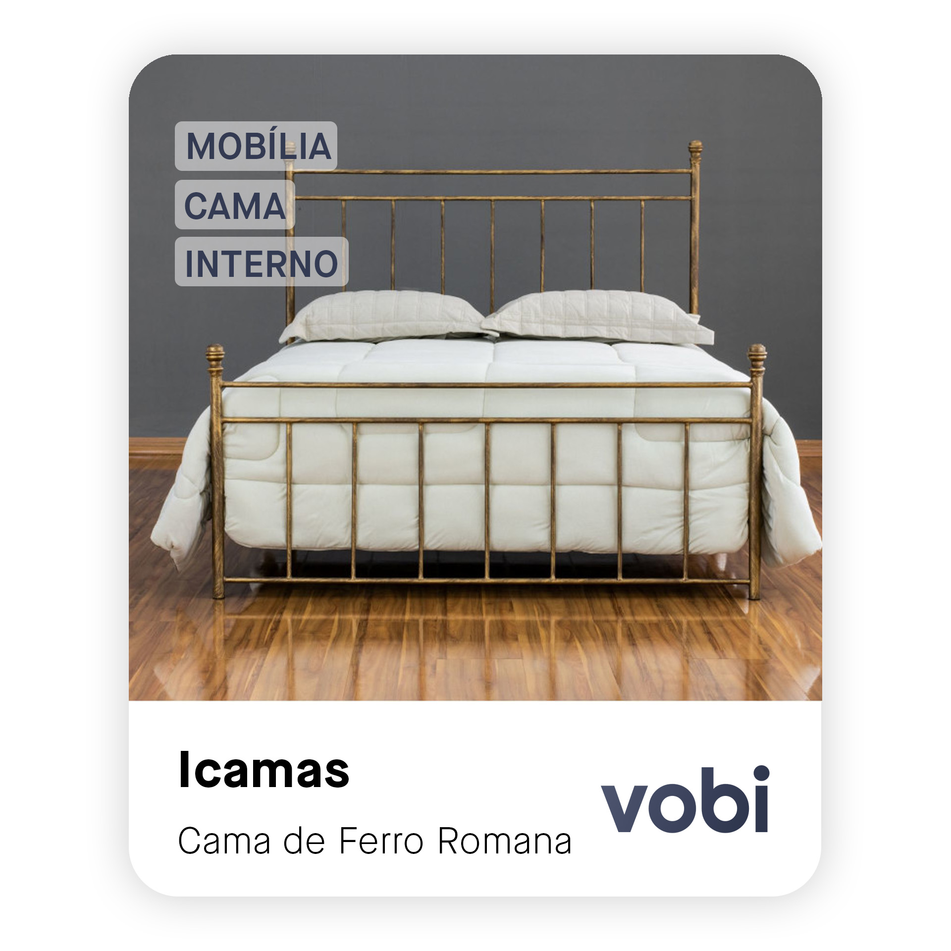 cama de ferro romana