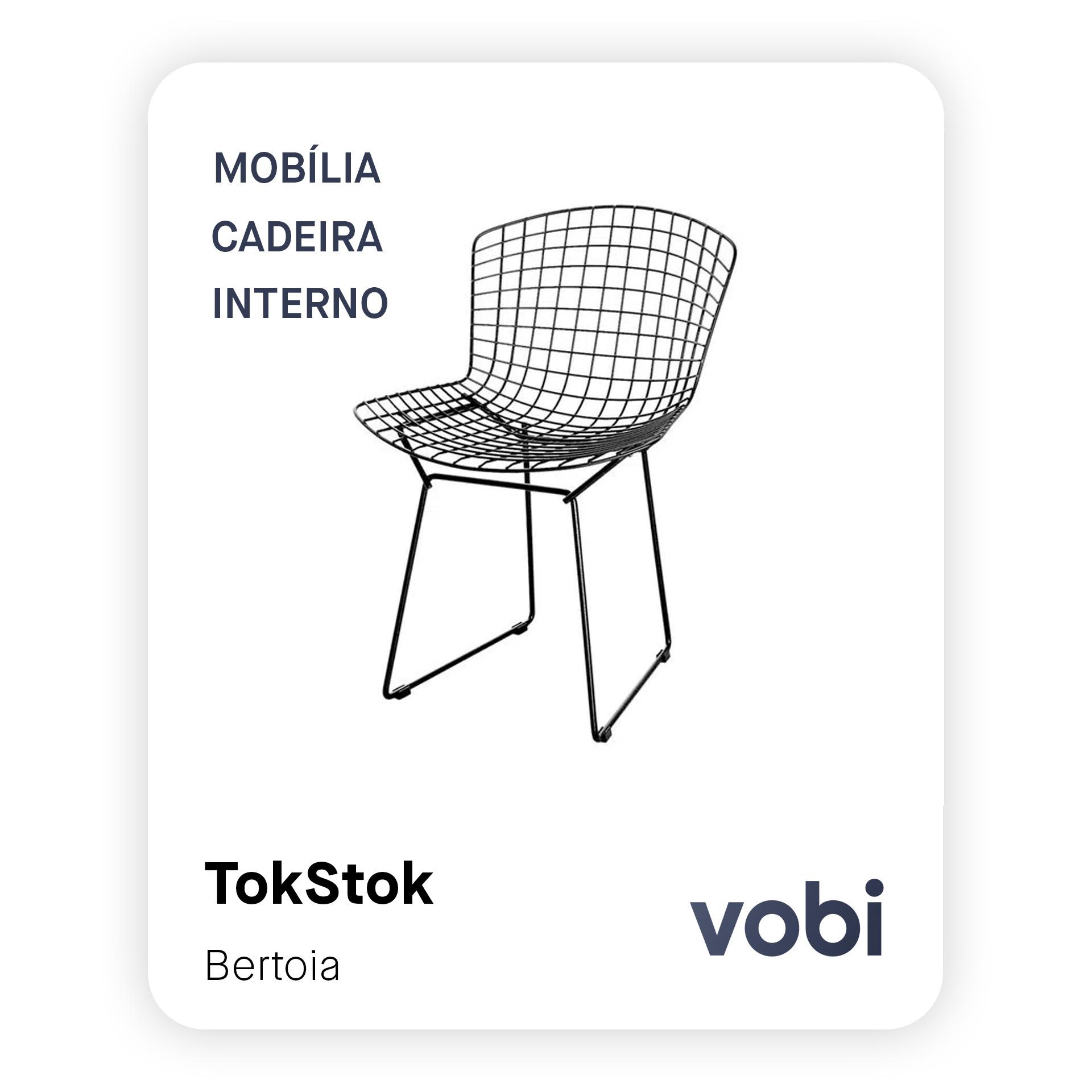 mobília cadeira bertoia