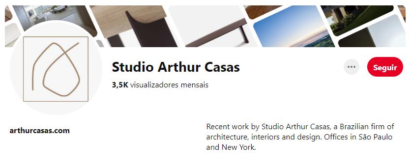 Pinterest Studio Arthur Casas