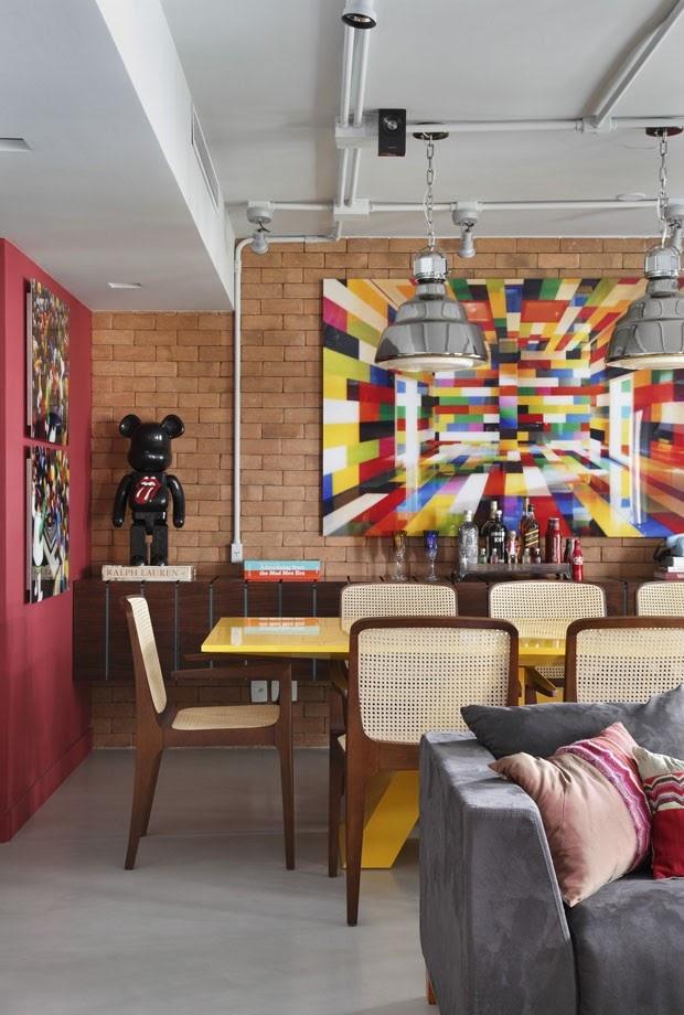 sala decoração colorida