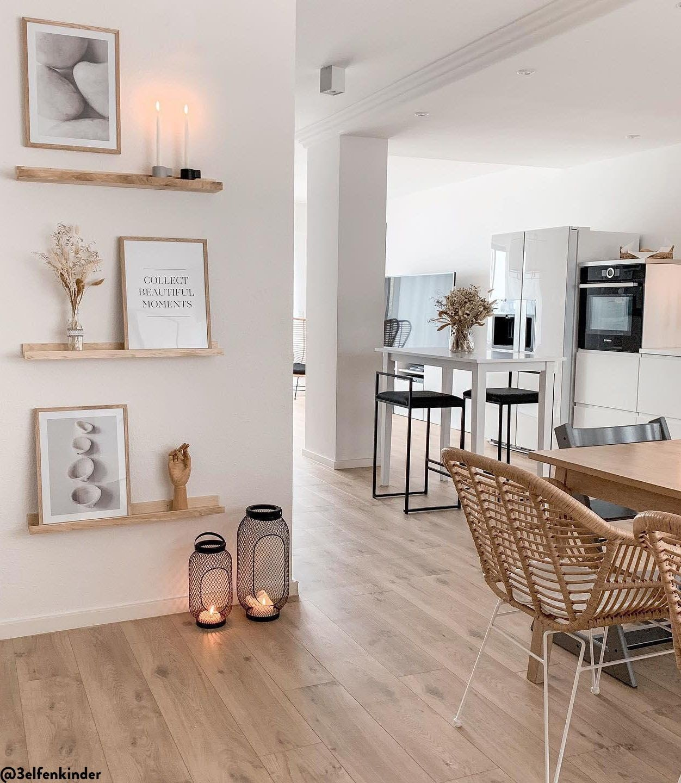 sala cozinha integrada branca