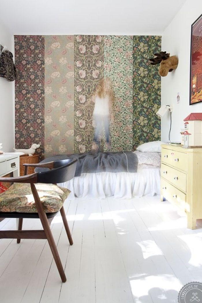 quarto parede em patchwork