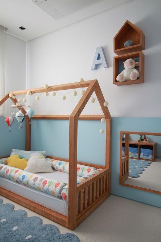 quarto bebê montessoriano