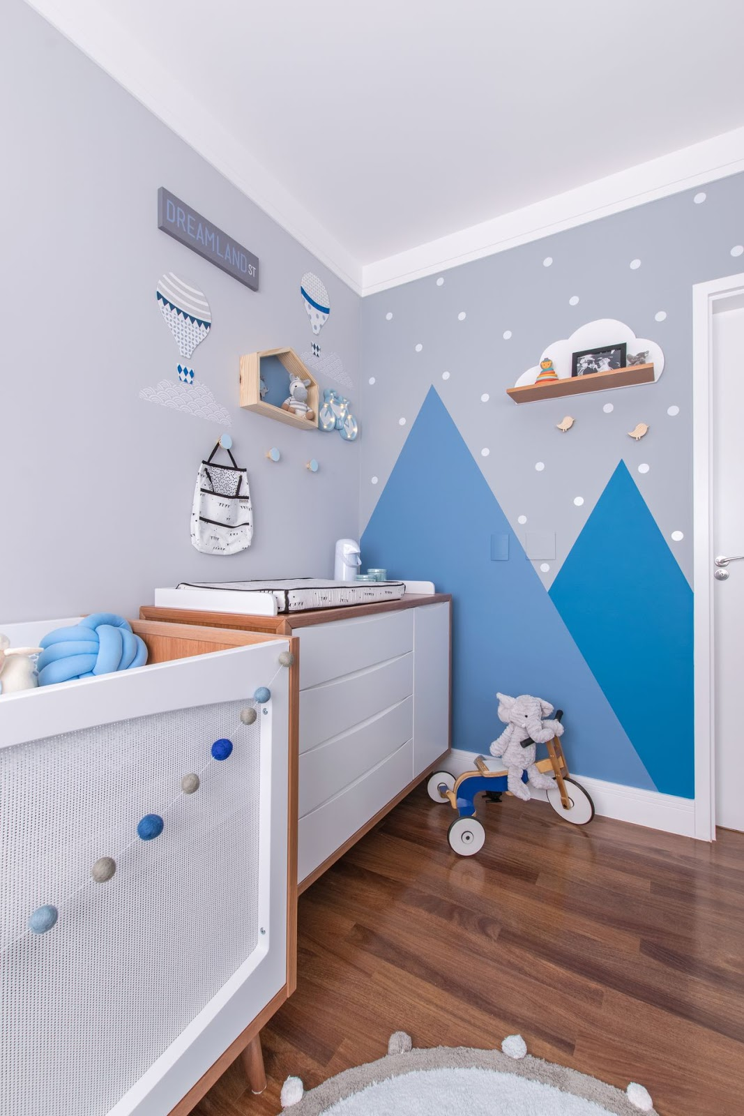 quarto de bebê menino