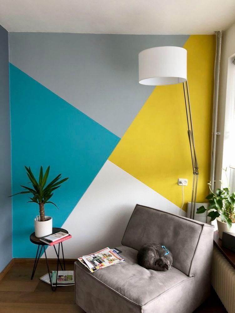 pintura geométrica