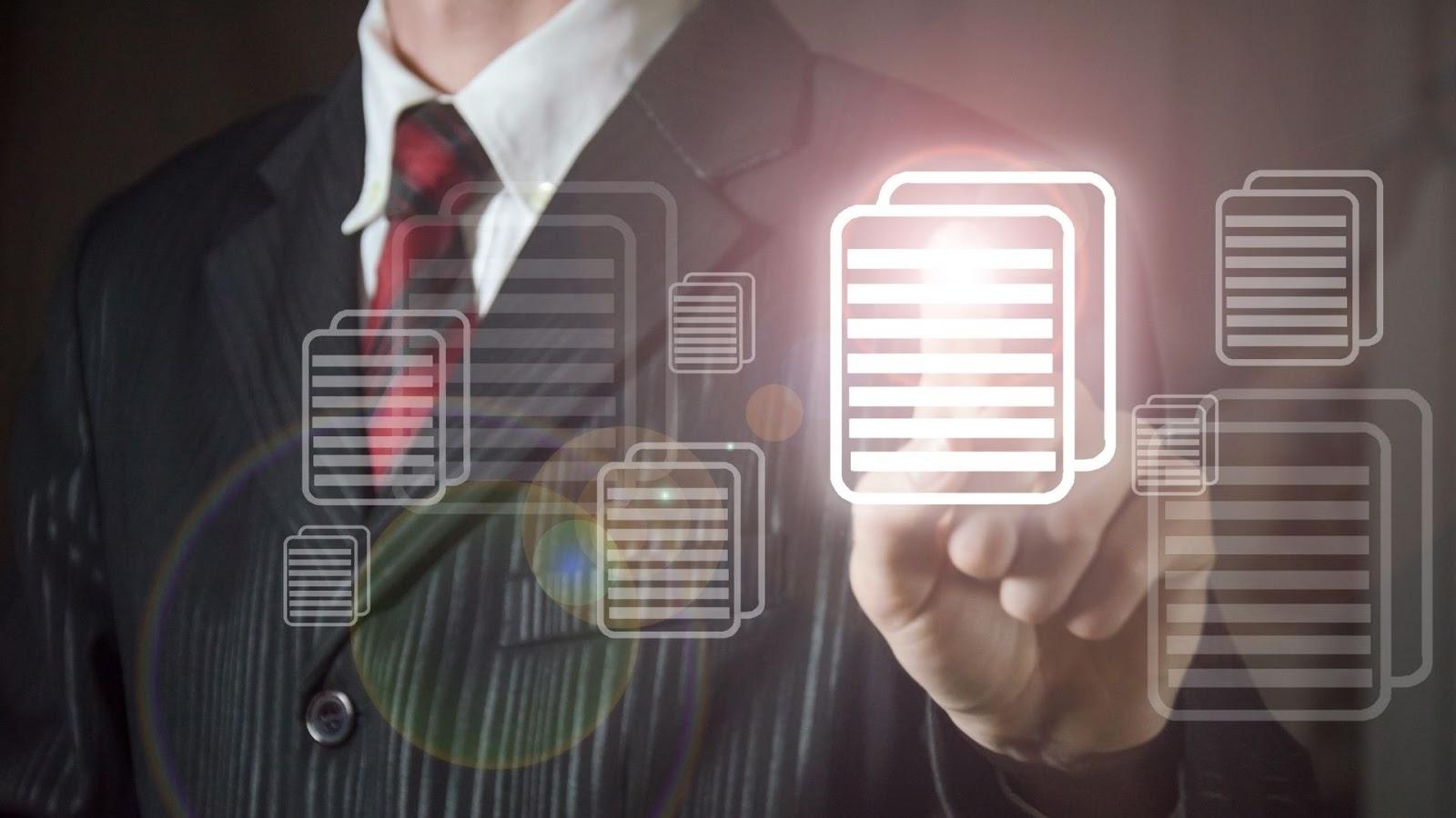 gestão de documentos digital