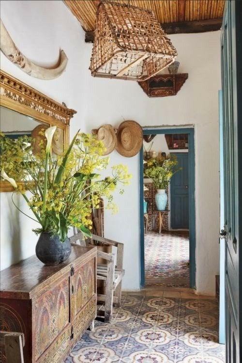 casa com elementos naturais