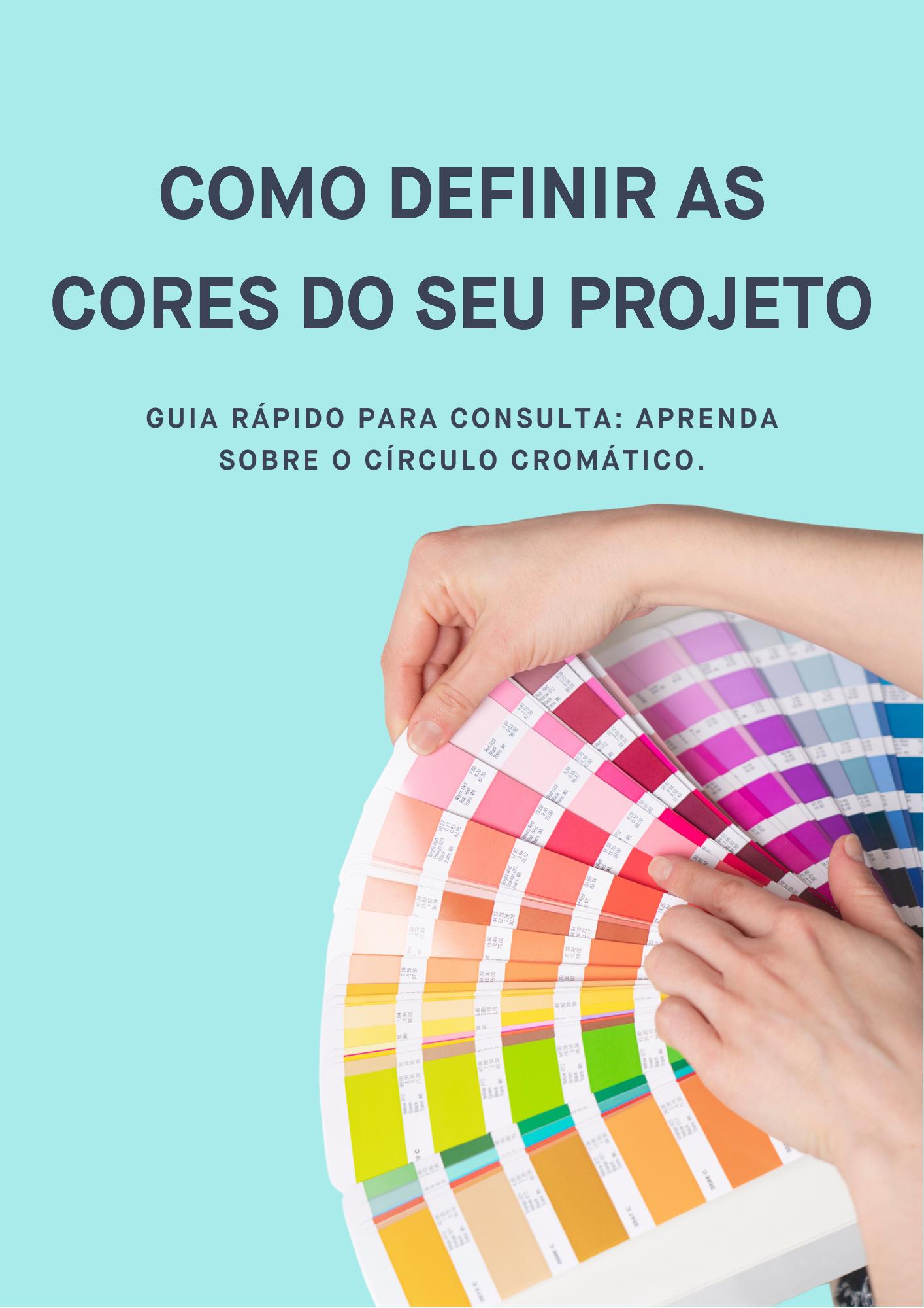Guia de cores para projetos de arquitetura e interiores