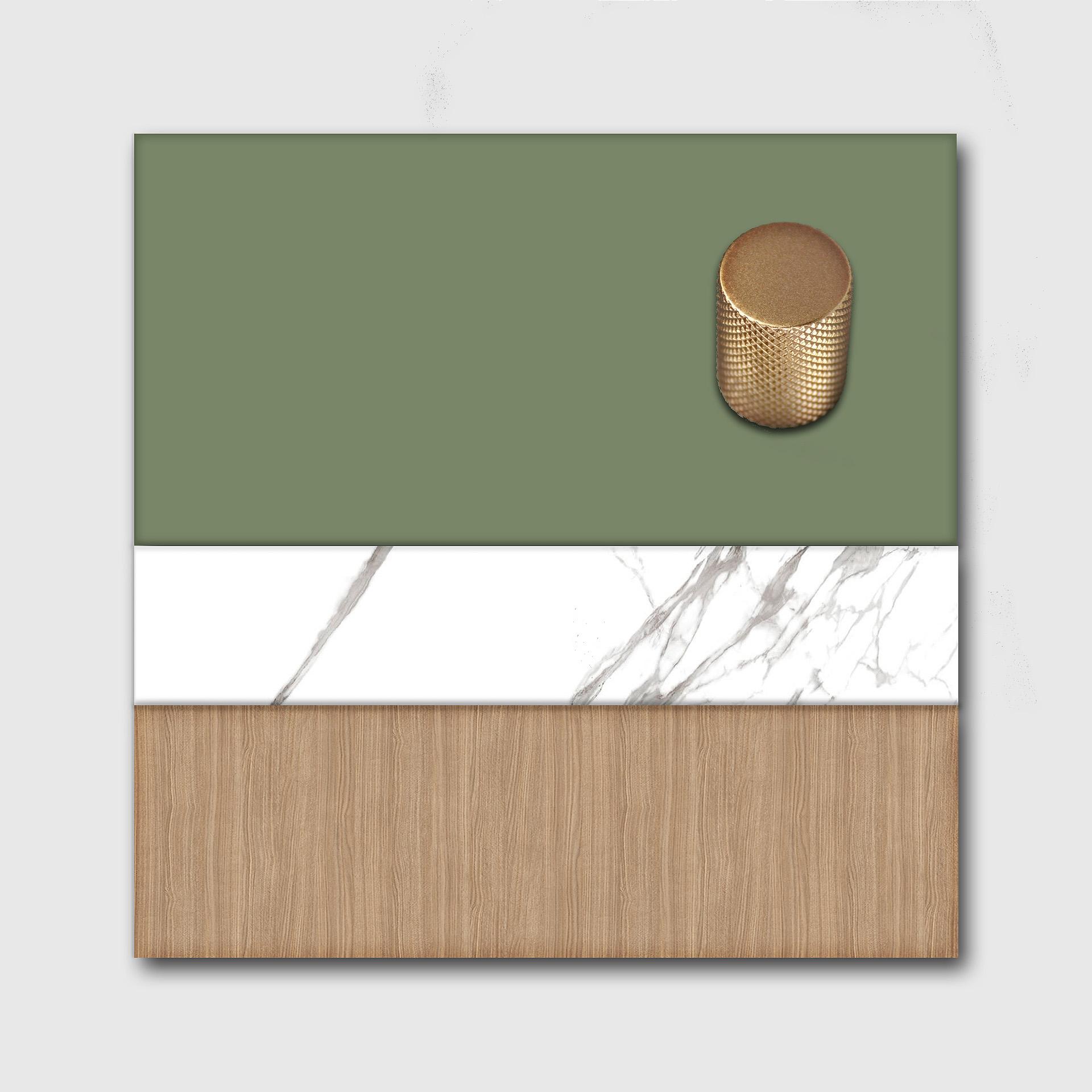 moodboard verde-musgo