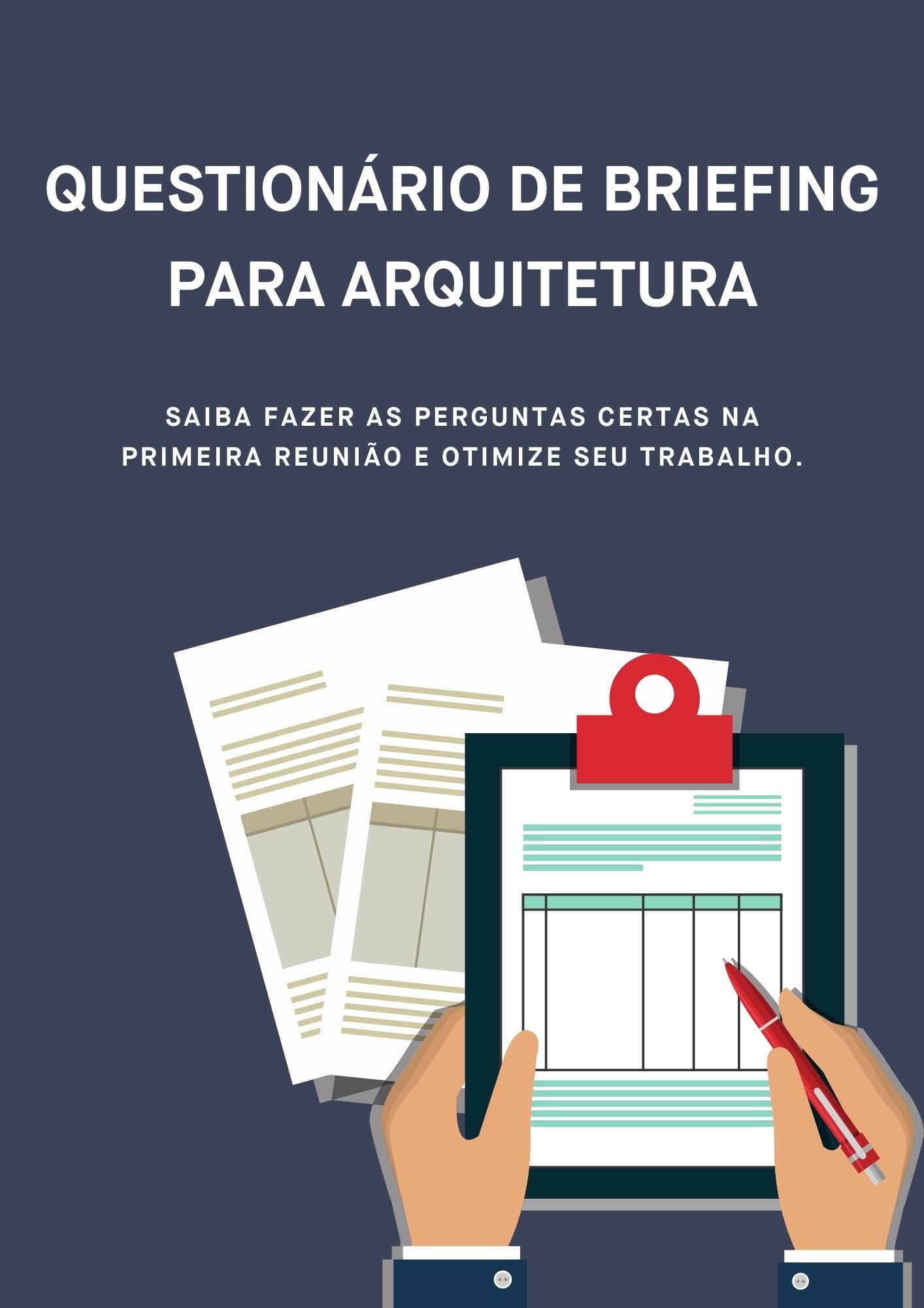 Questionário de Briefing de arquitetura