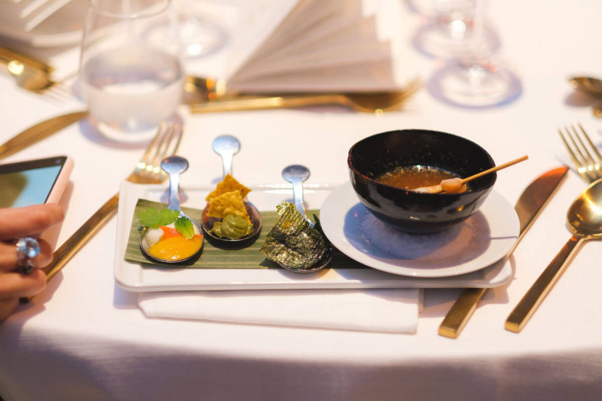 PLAN DESIGN EVENTS worked in this culinary Gala