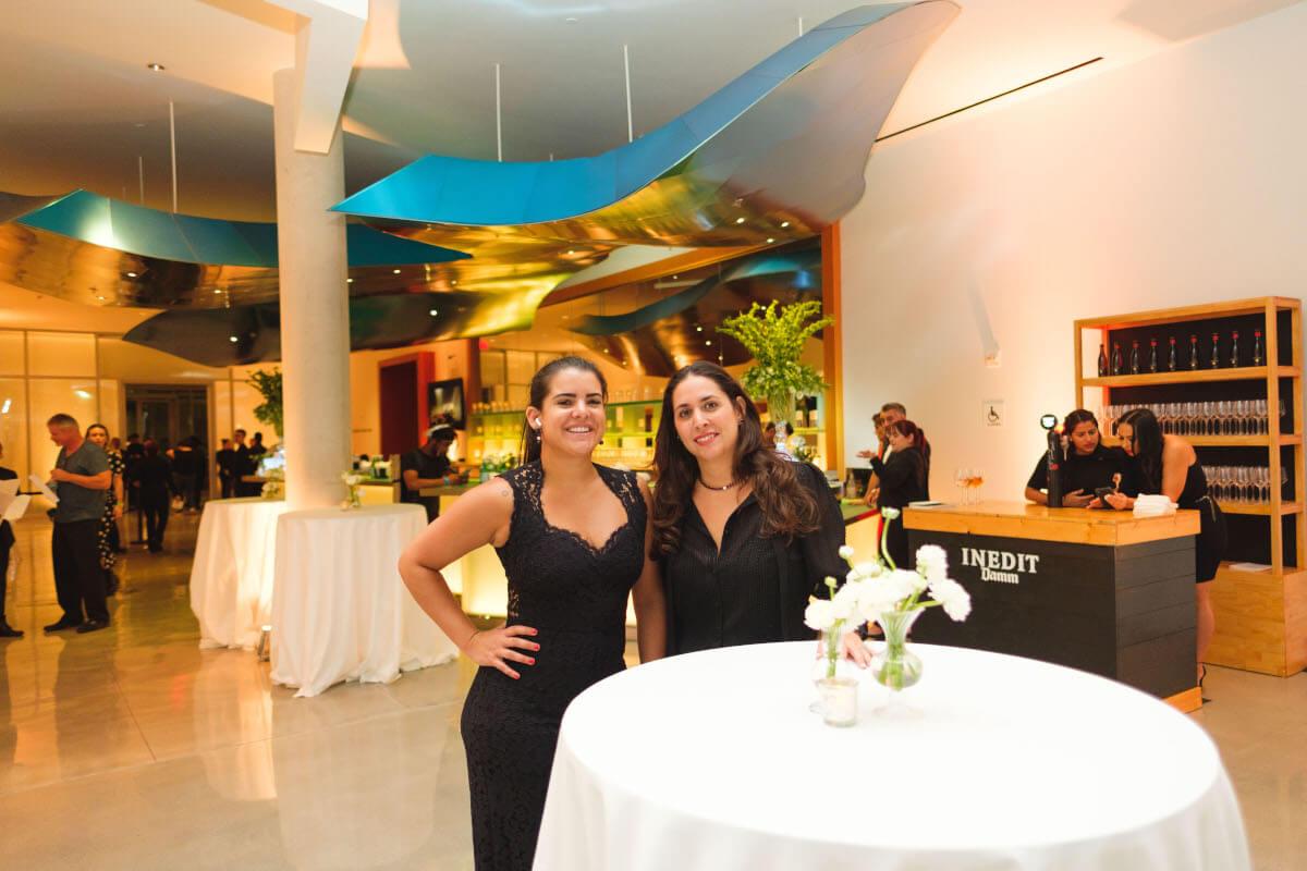 Arianna Grijalba and Nicole Braghin PLAN DESIG EVENTS Partners at culinary Gala