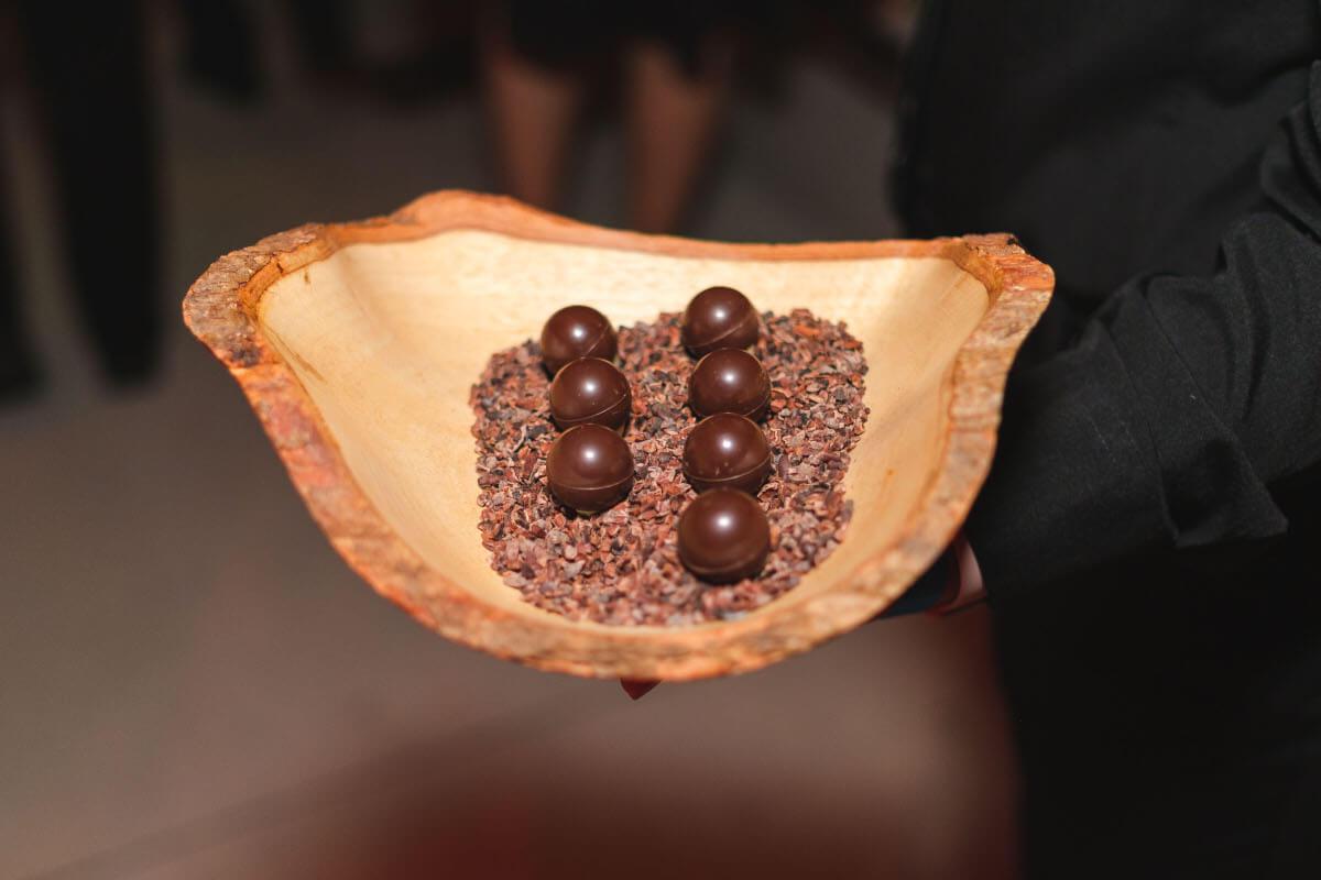 amazing chocolat dessert presentation
