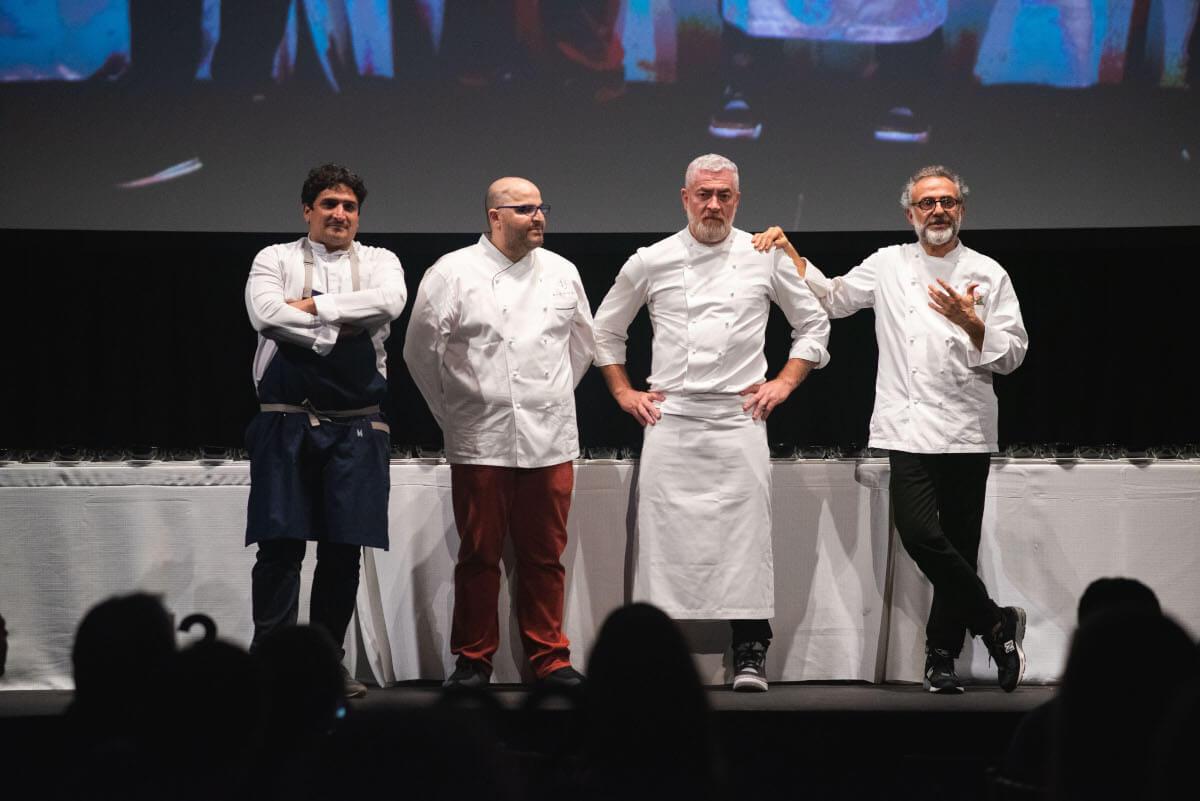 Botura,Colagreco,Alata and Bachour at Culinary Gala Event in Miami