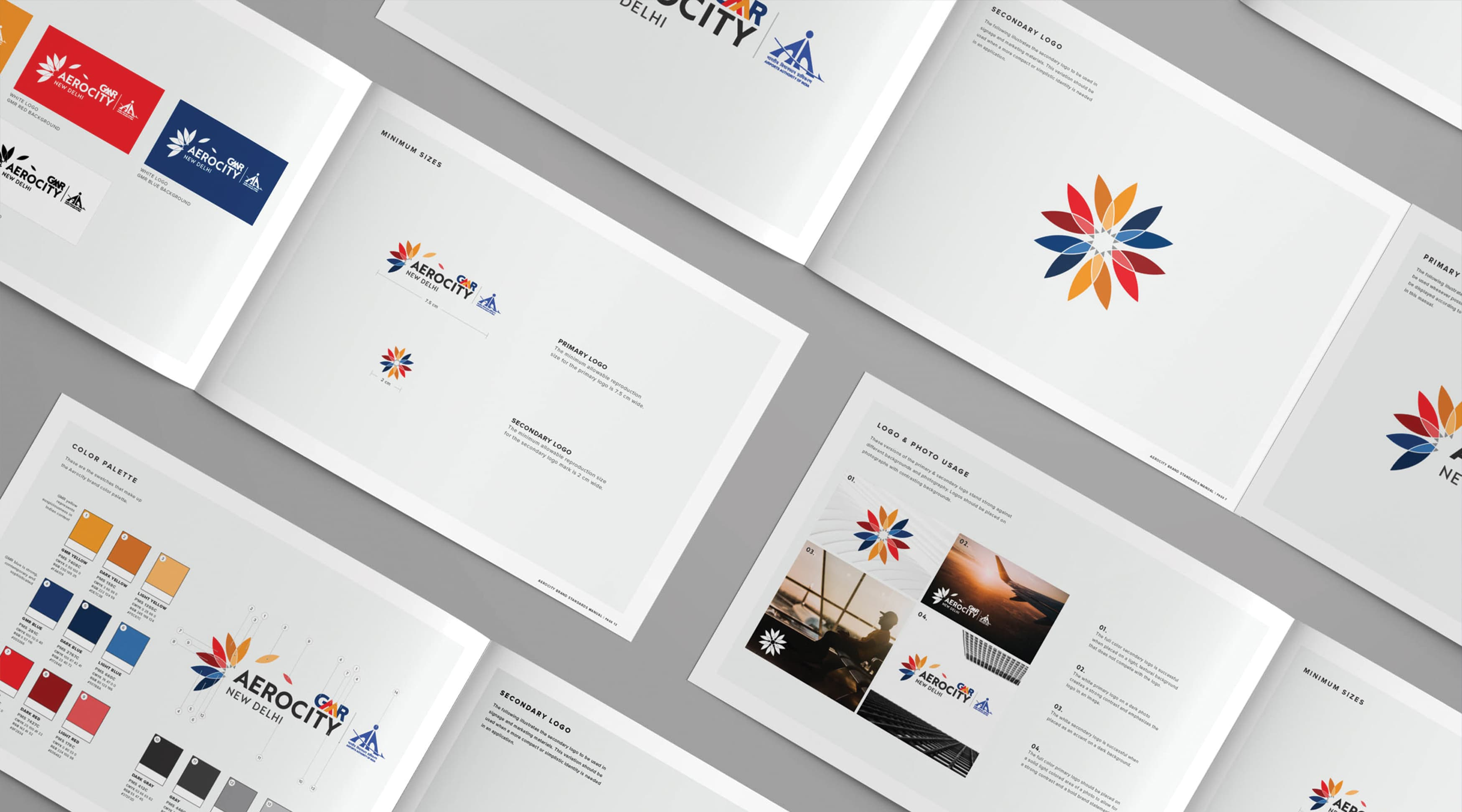 Aerocity, New Delhi, India, branding guidelines