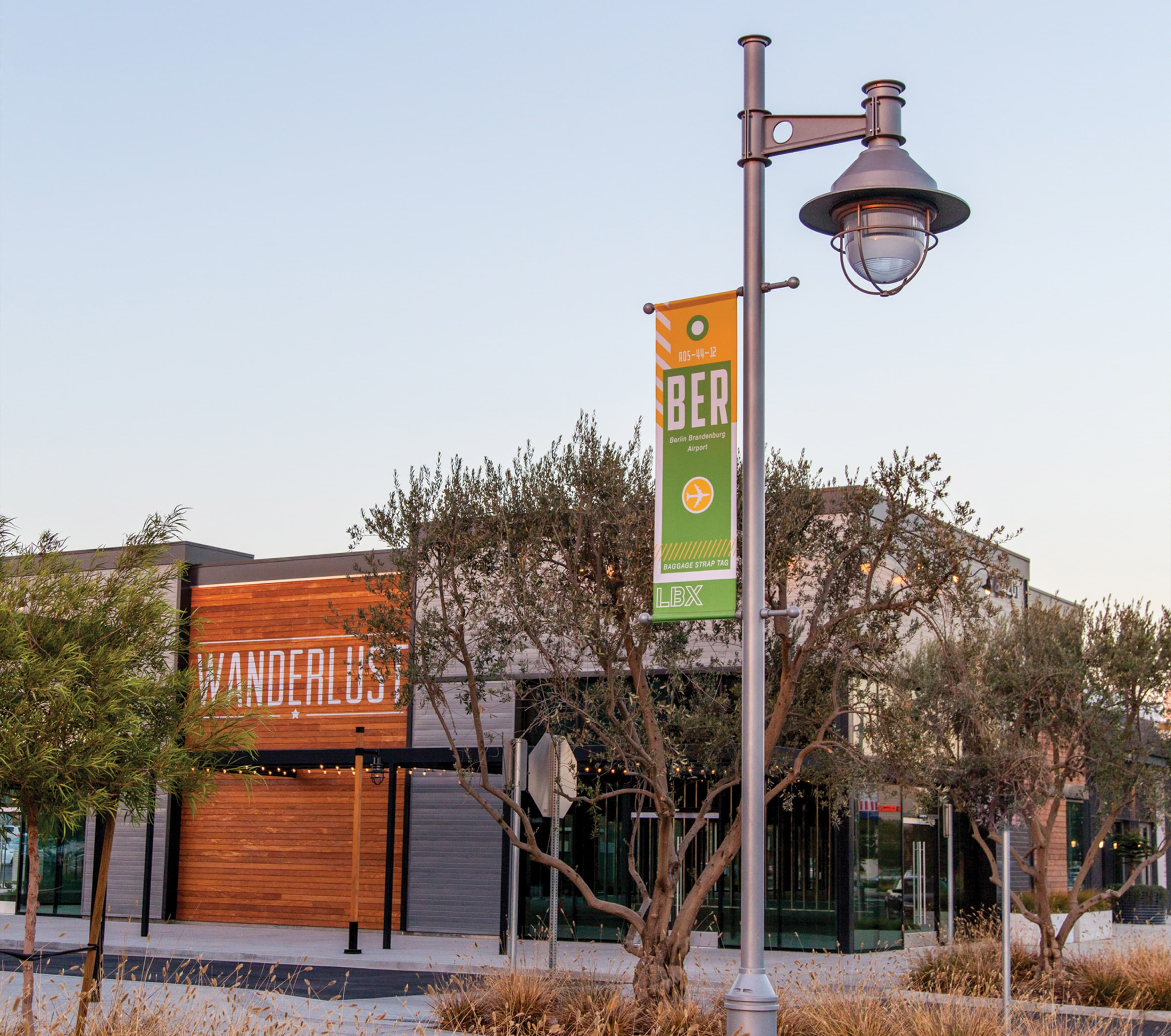 Long Beach Exchange Retail Design Project Environmental Graphic Design and Placemaking
