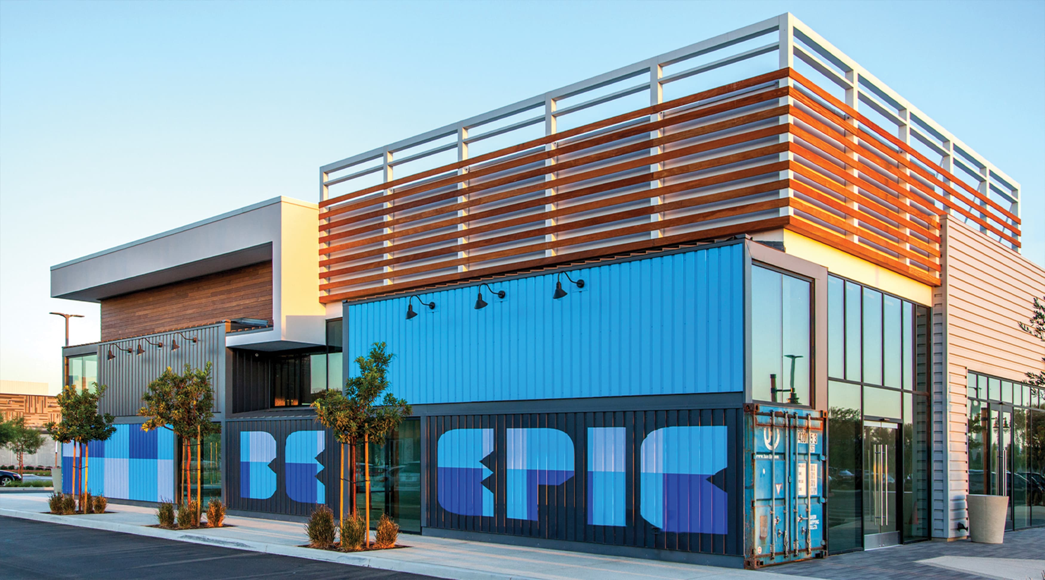 Long Beach Exchange Retail Design Project Environmental Graphic Design and Placemaking Graphic Architecture