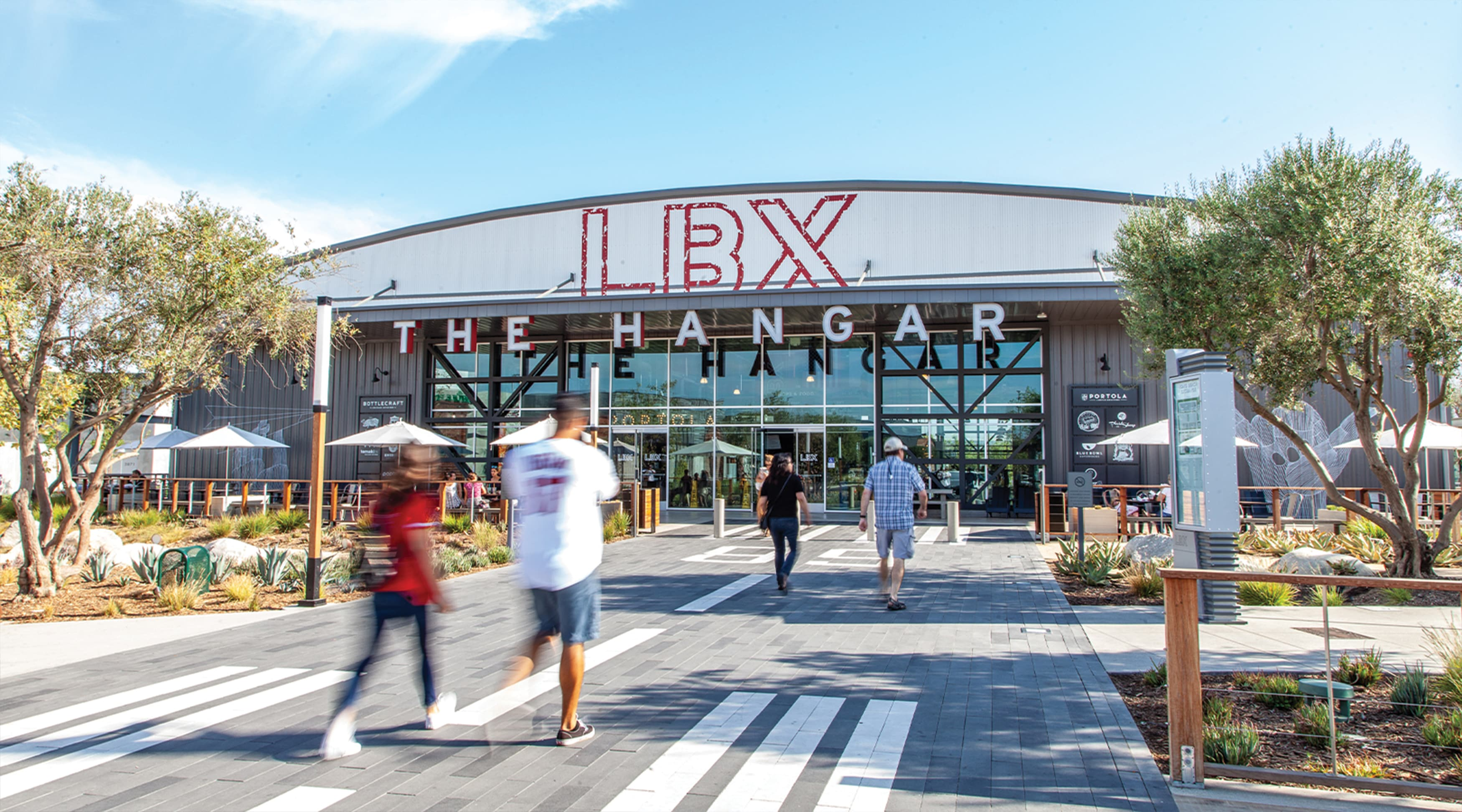 Long Beach Exchange Retail Design Project Identity Signage and Graphic Architecture