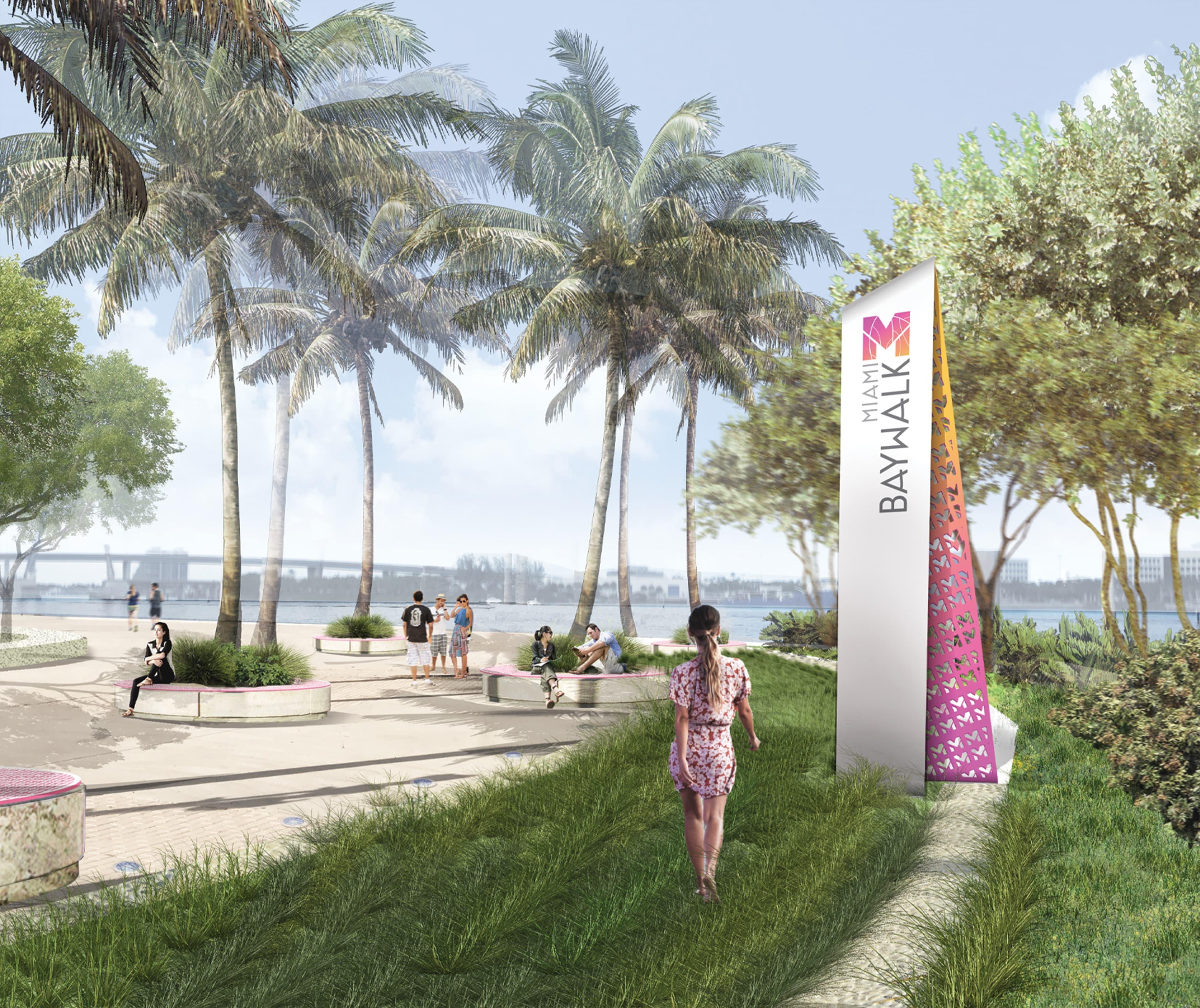 Civic Design, Transit Design, Waterfront Wayfinding Design, Streetscape Design, Park Wayfinding & Signage.