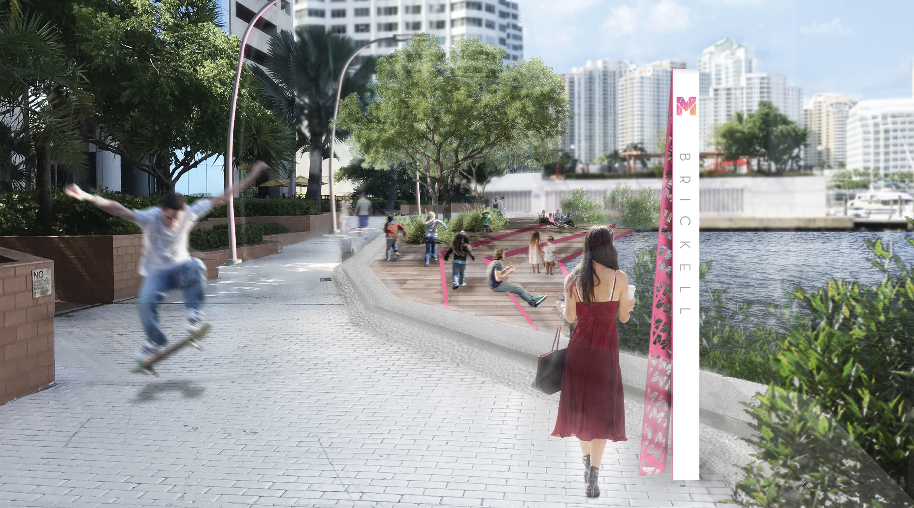 Civic Design, Transit Design, Waterfront Wayfinding Design, Streetscape Design, Park Wayfinding & Signage. Urban Wayfinding Signage.