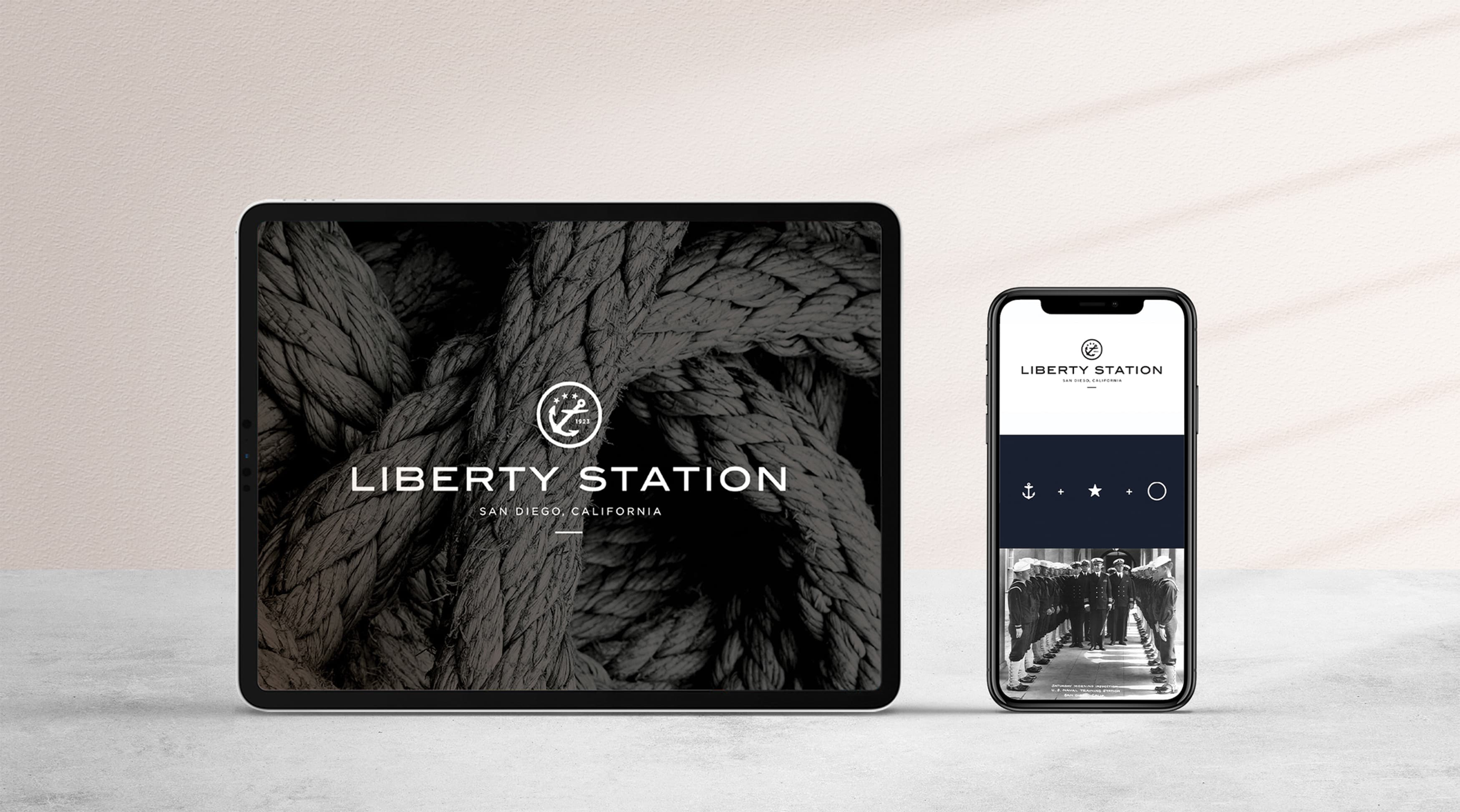 Liberty Station, San Diego, mixed-use project digital branding
