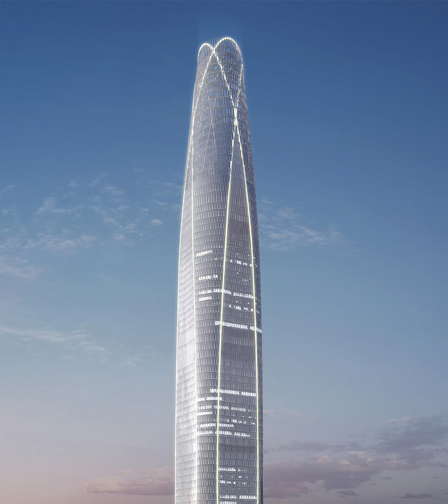 K11, located in Tianjin, China, is a super high-rise complex development