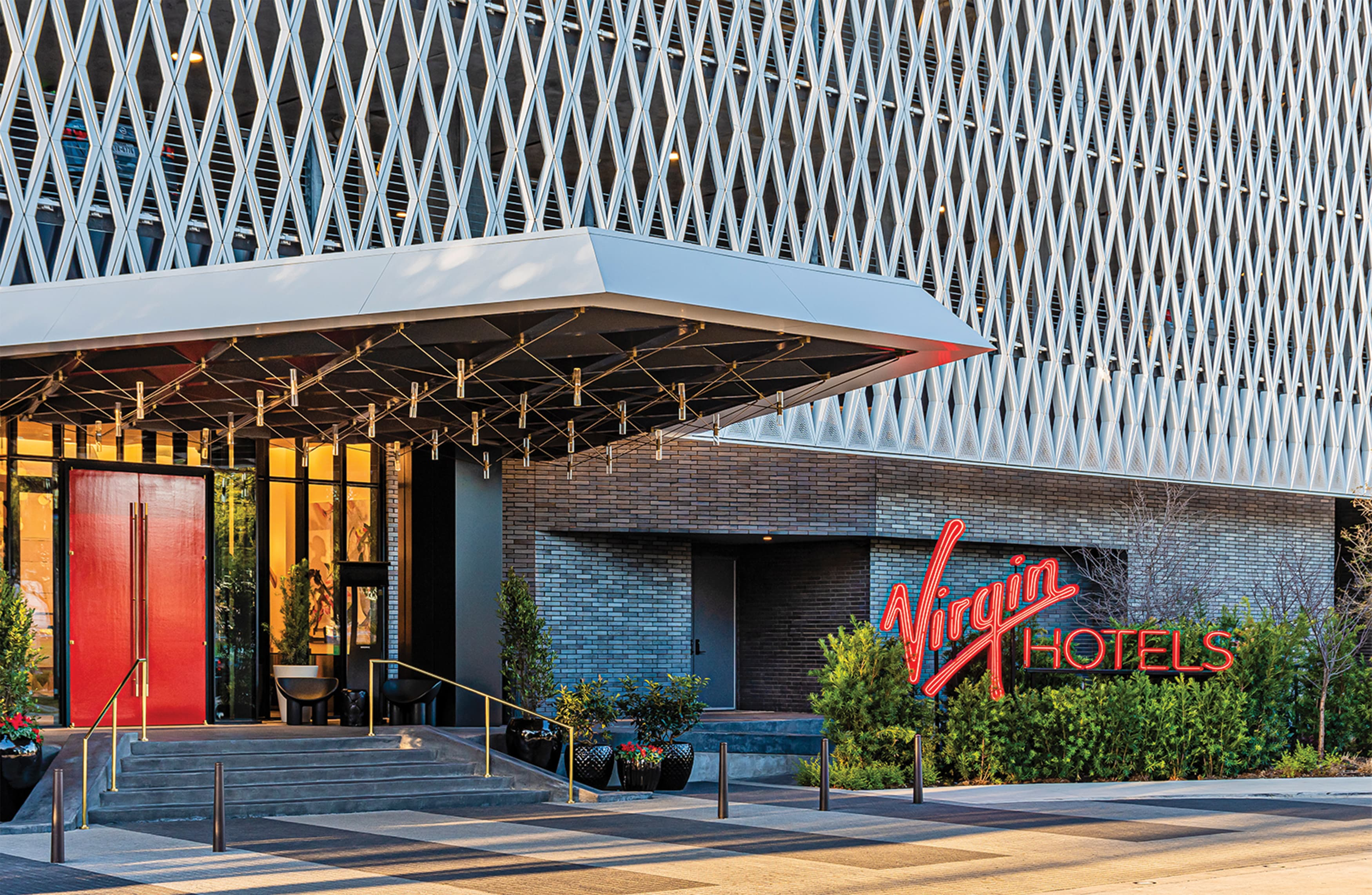 Virgin Hotels Exposed Neon Hospitality Signage