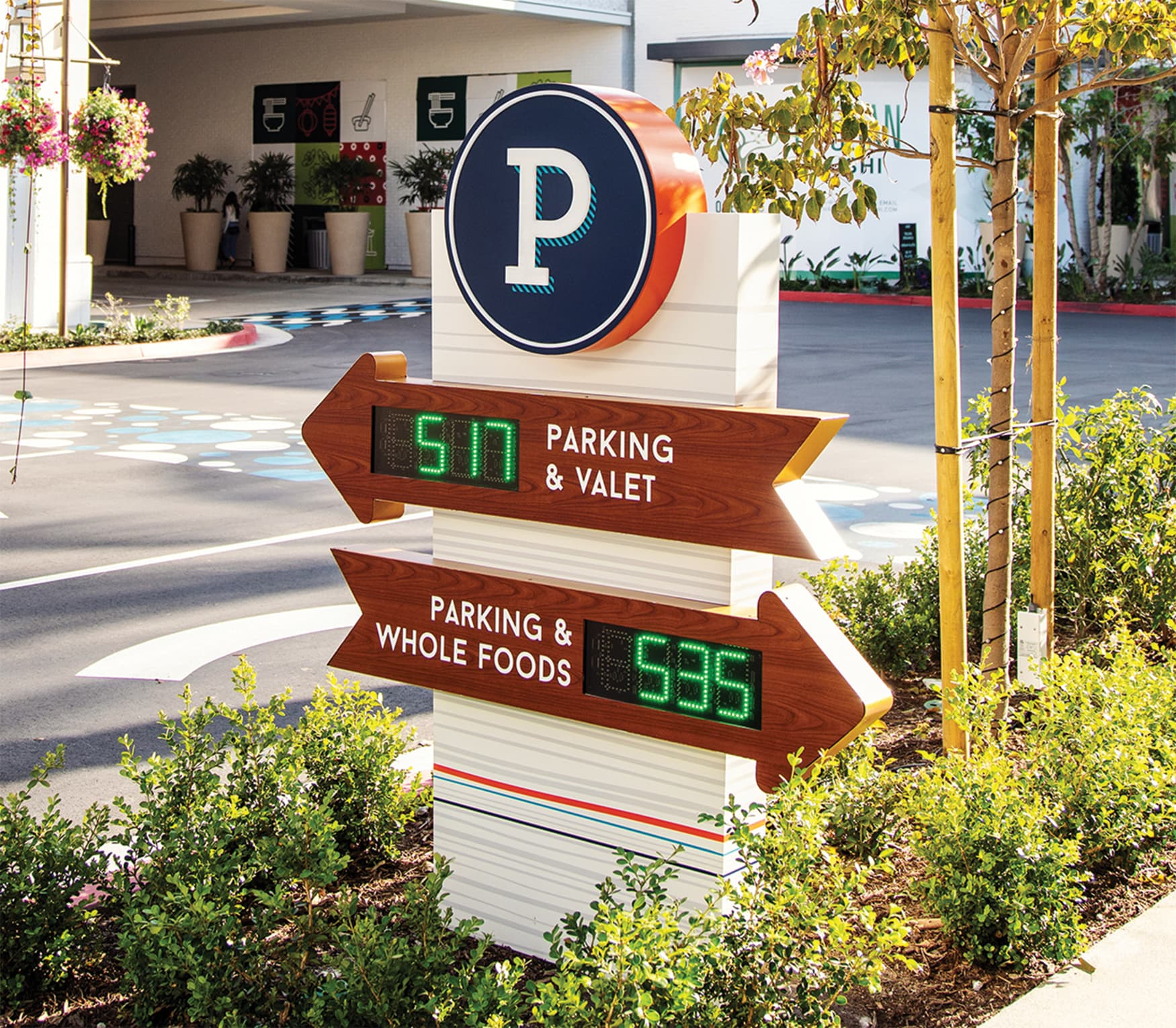 2nd & PCH parking counter design