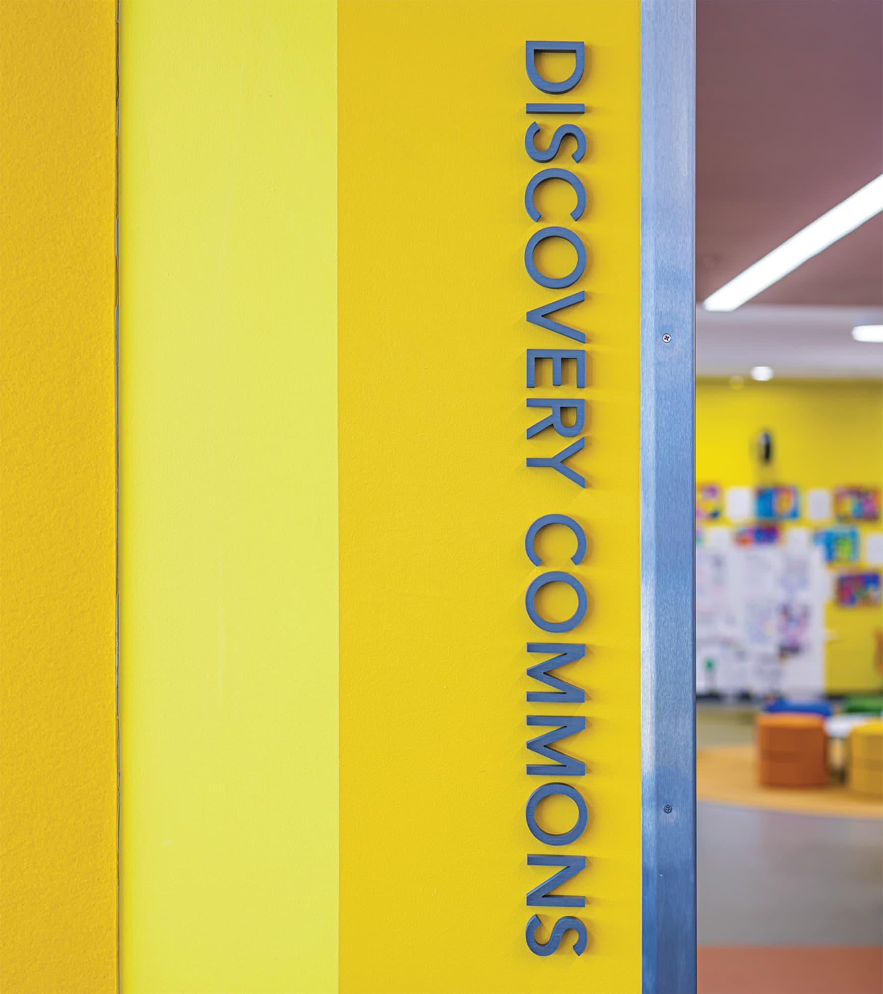 Education Interior Room Identity Signage