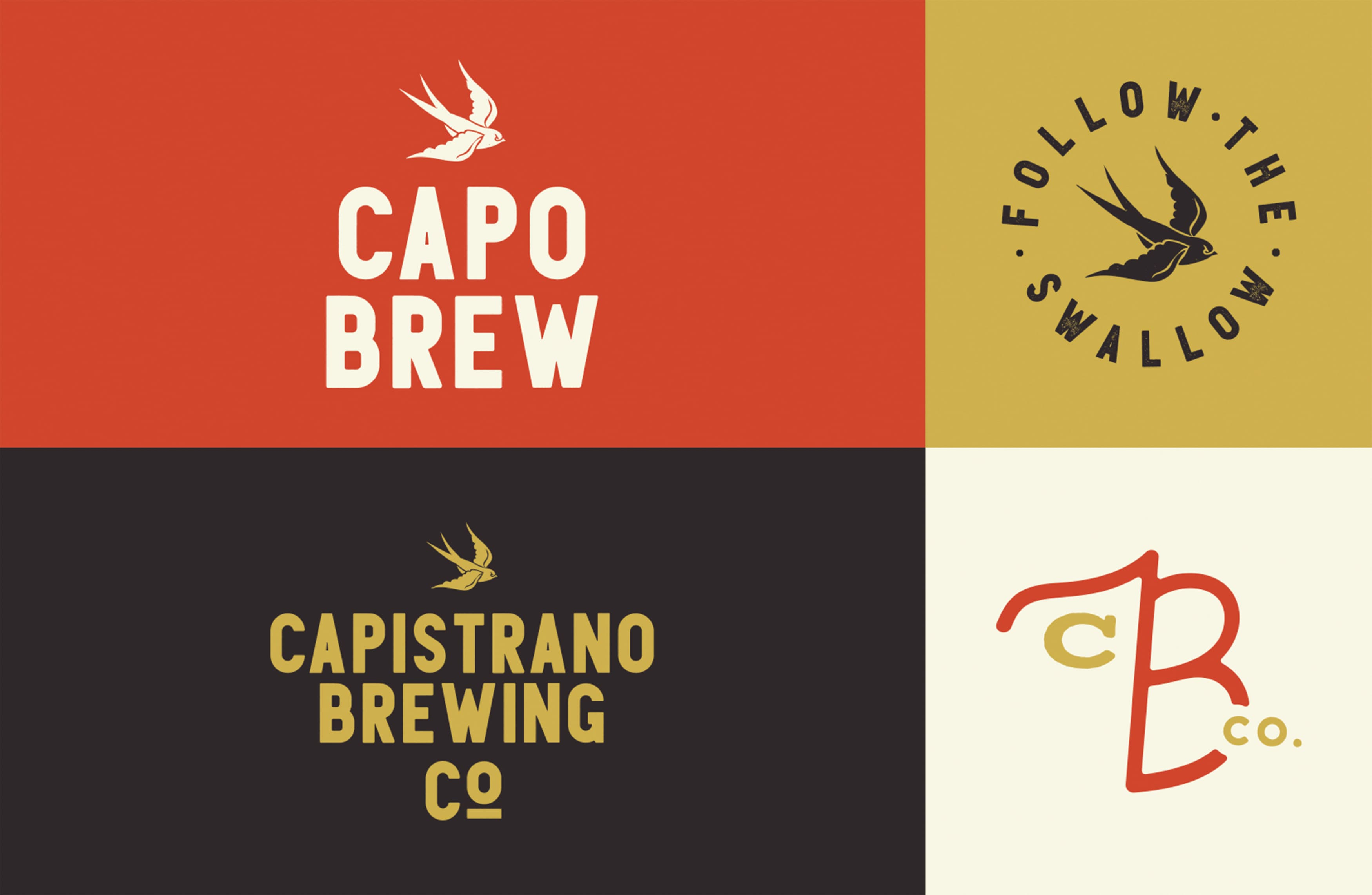 Capo Brew, a brewery located in the historic San Juan Capistrano, California, worked with RSM Design to craft a brand identity that conveyed its historic roots and cowboy personality.