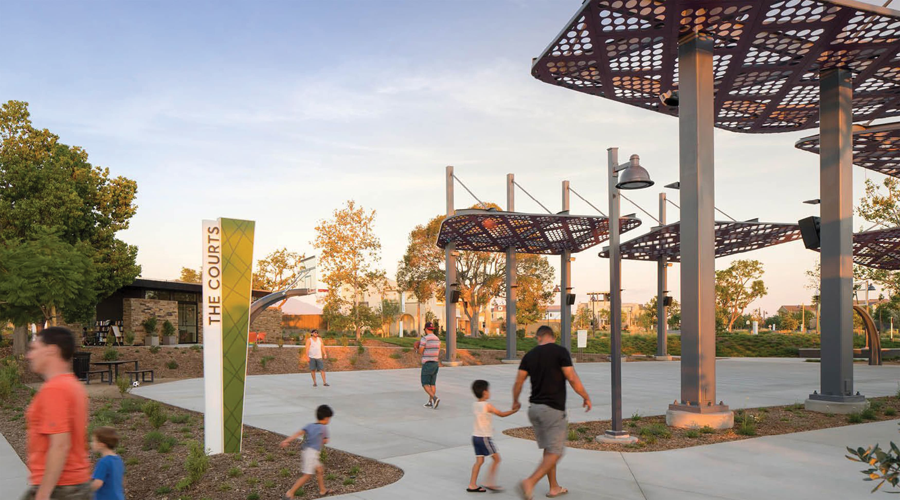 Great Park Neighborhoods residential park and amenity design