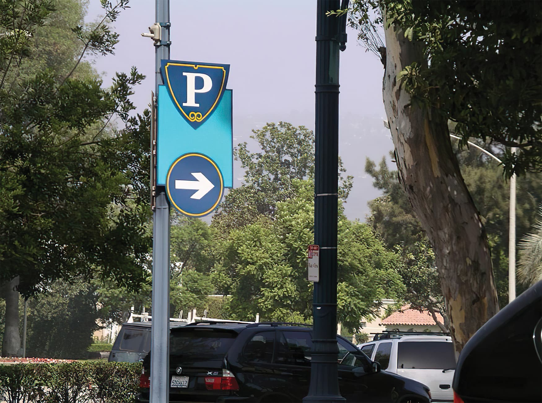 City of Beverly Hills. Civic Signage Design. Civic Wayfinding Design.