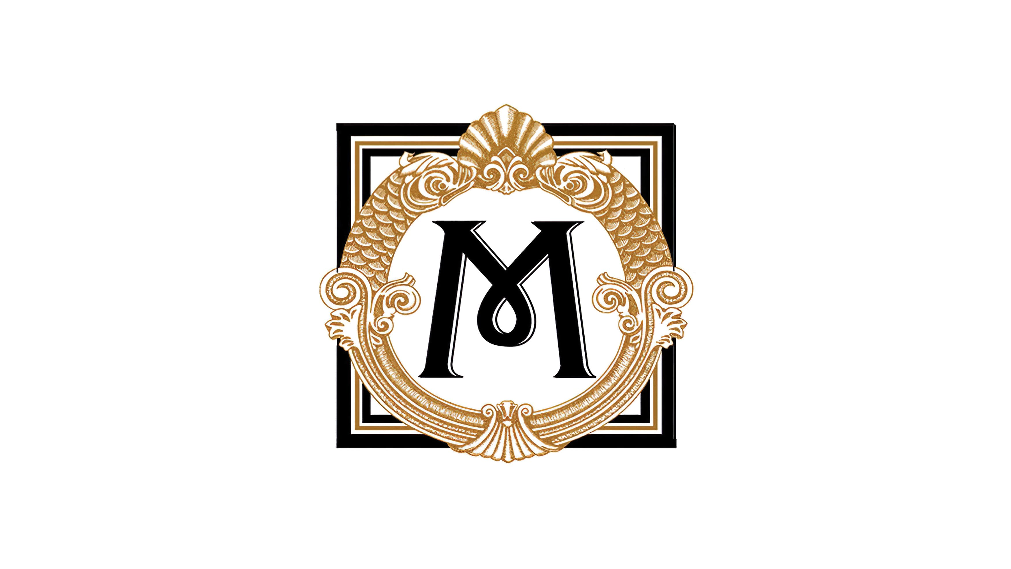 The intricate brand mark designed for the Hotel Miracosta.