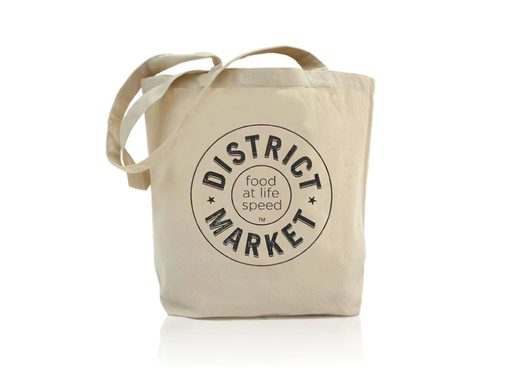 District Market, a student market located by the University of Washington's campus. Branding and Logo Design.