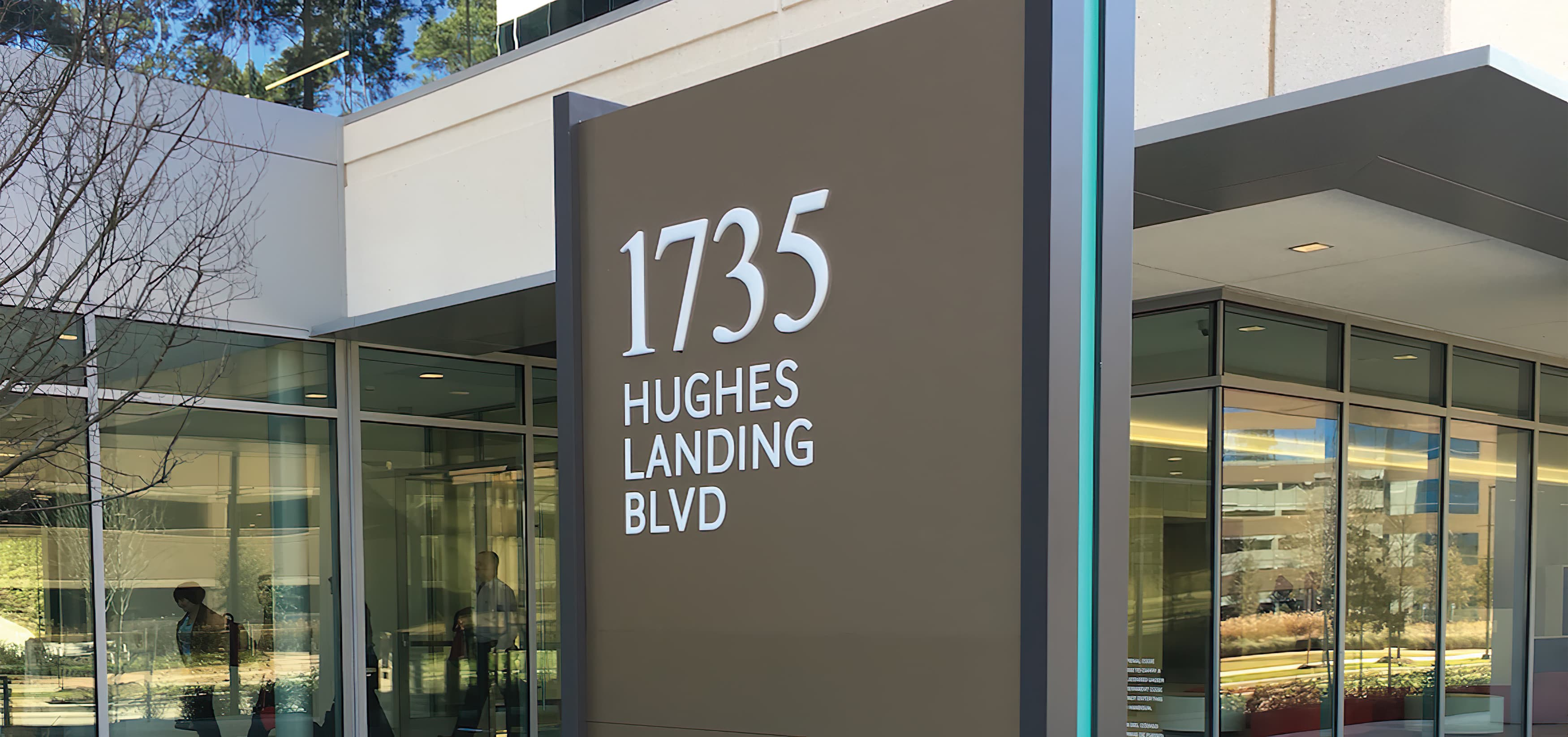 Hughes Landing, a mixed-use development in  The Woodlands, Texas.