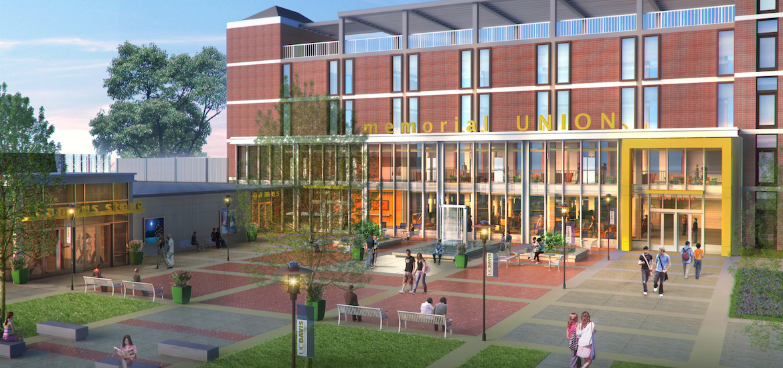 Memorial Union, located at the University of California, Davis. Education Design. Campus Design. Wayfinding and Environmental Graphics.