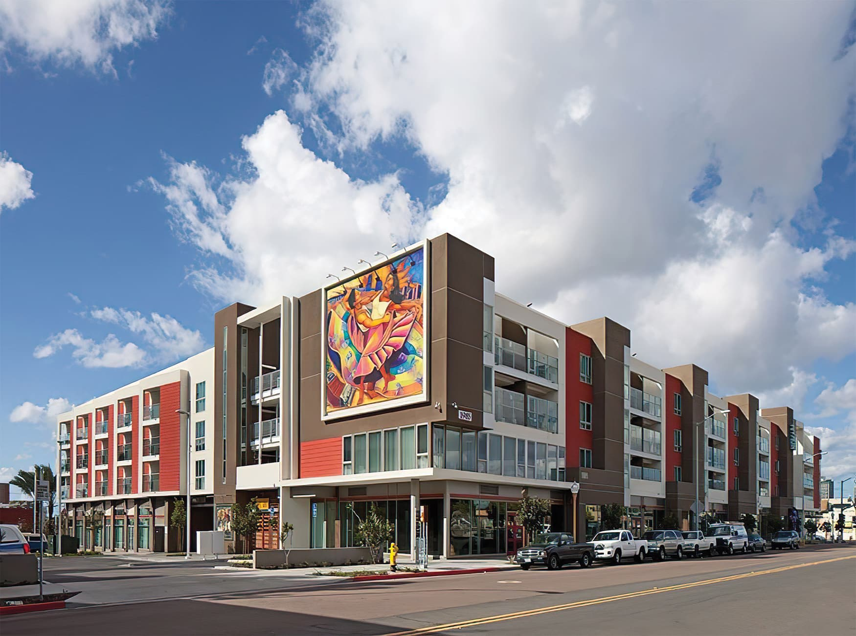RSM Design worked with Shea Properties to prepare wayfinding signage, environmental graphics, and placemaking elements for Mercado del Barrio, a residential and commercial mixed-use development located in San Diego, California. Public Art.