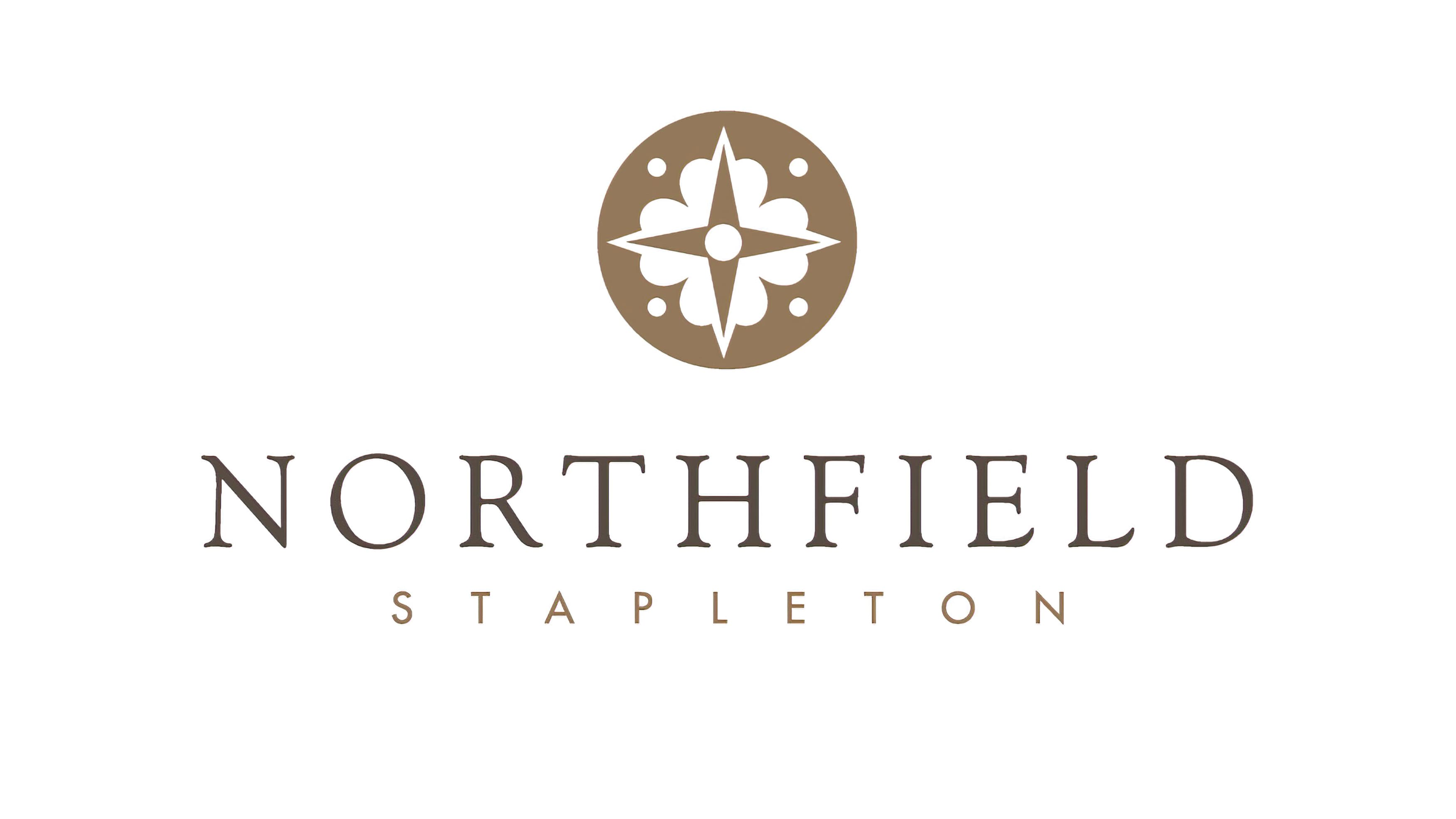 Northfield Stapleton project logo designed by RSM Design