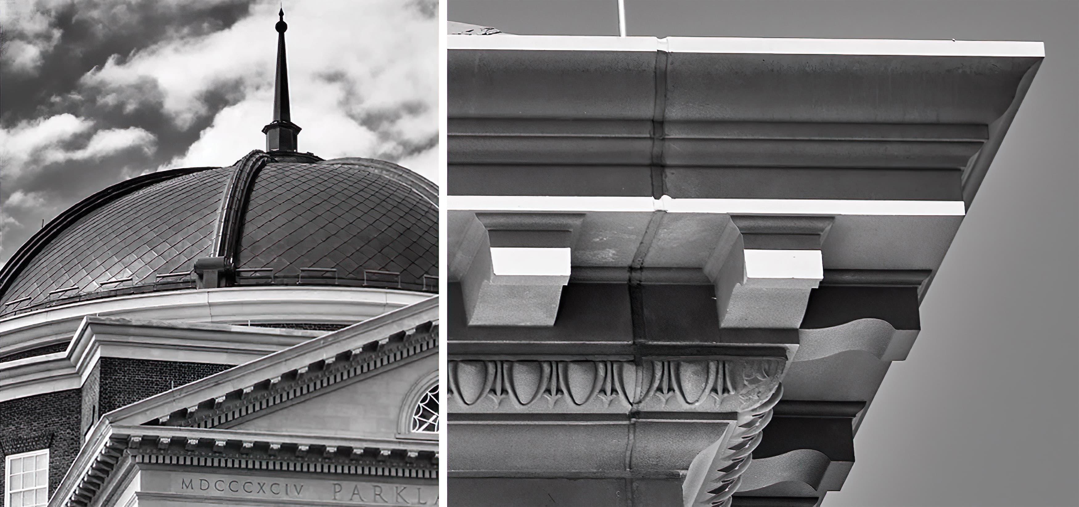 Old Parkland Campus in Dallas, Texas. Neo-Classical Architecture. Civic Design, Cultural Design, Workplace Design.