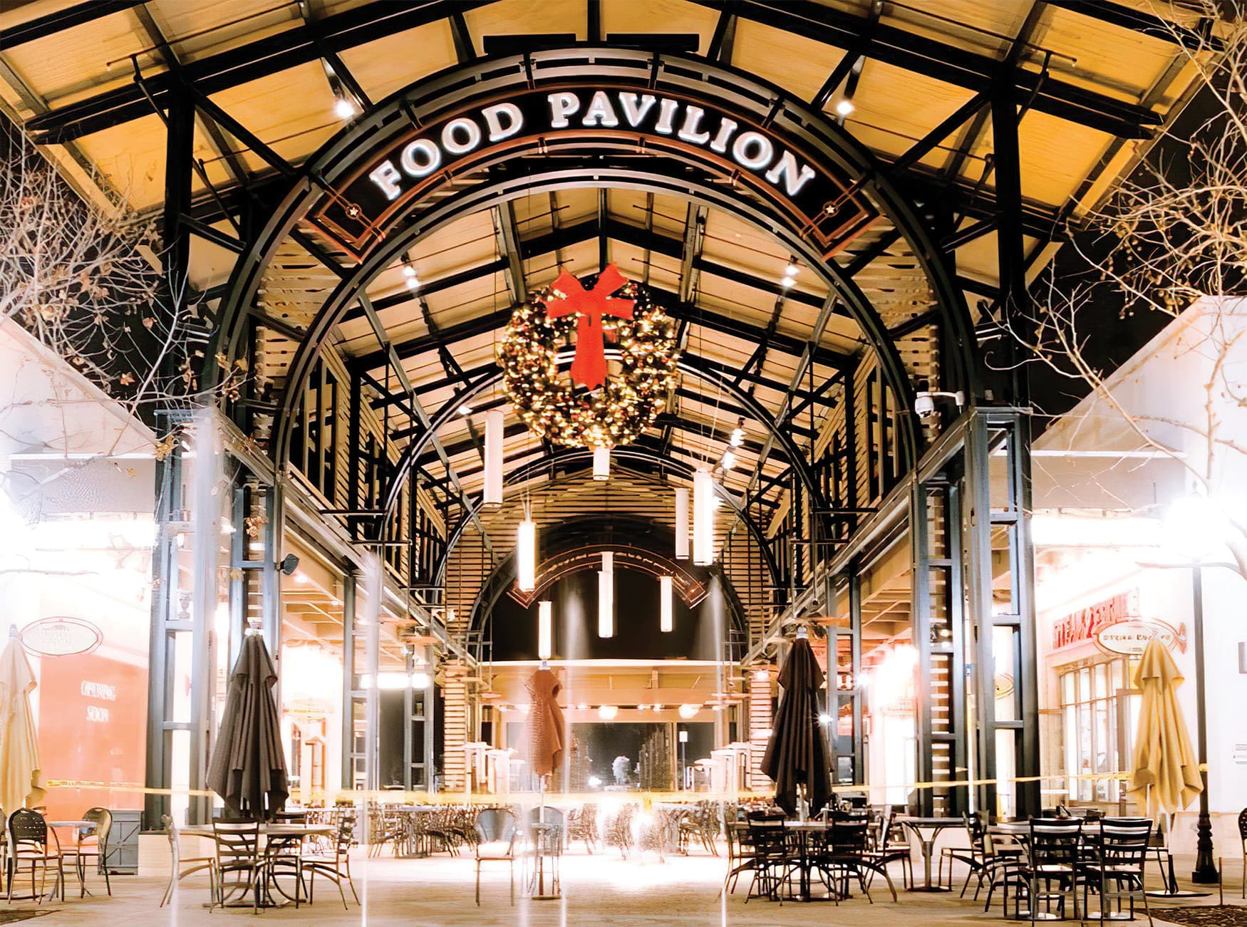 Otay Ranch, an outdoor retail development. Food Hall Design.