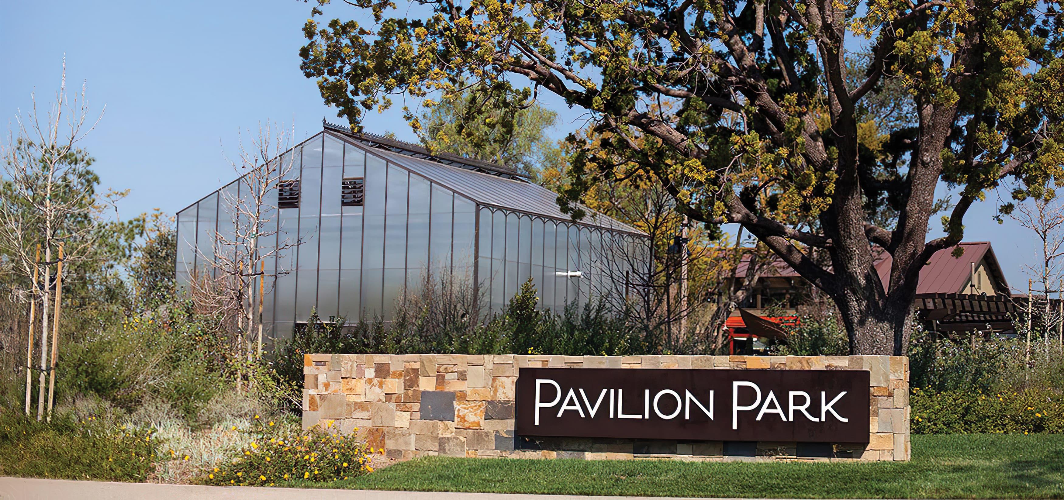 Pavilion Park. Irvine Great Park. Residential Community Park Design. Park Monument Signage.