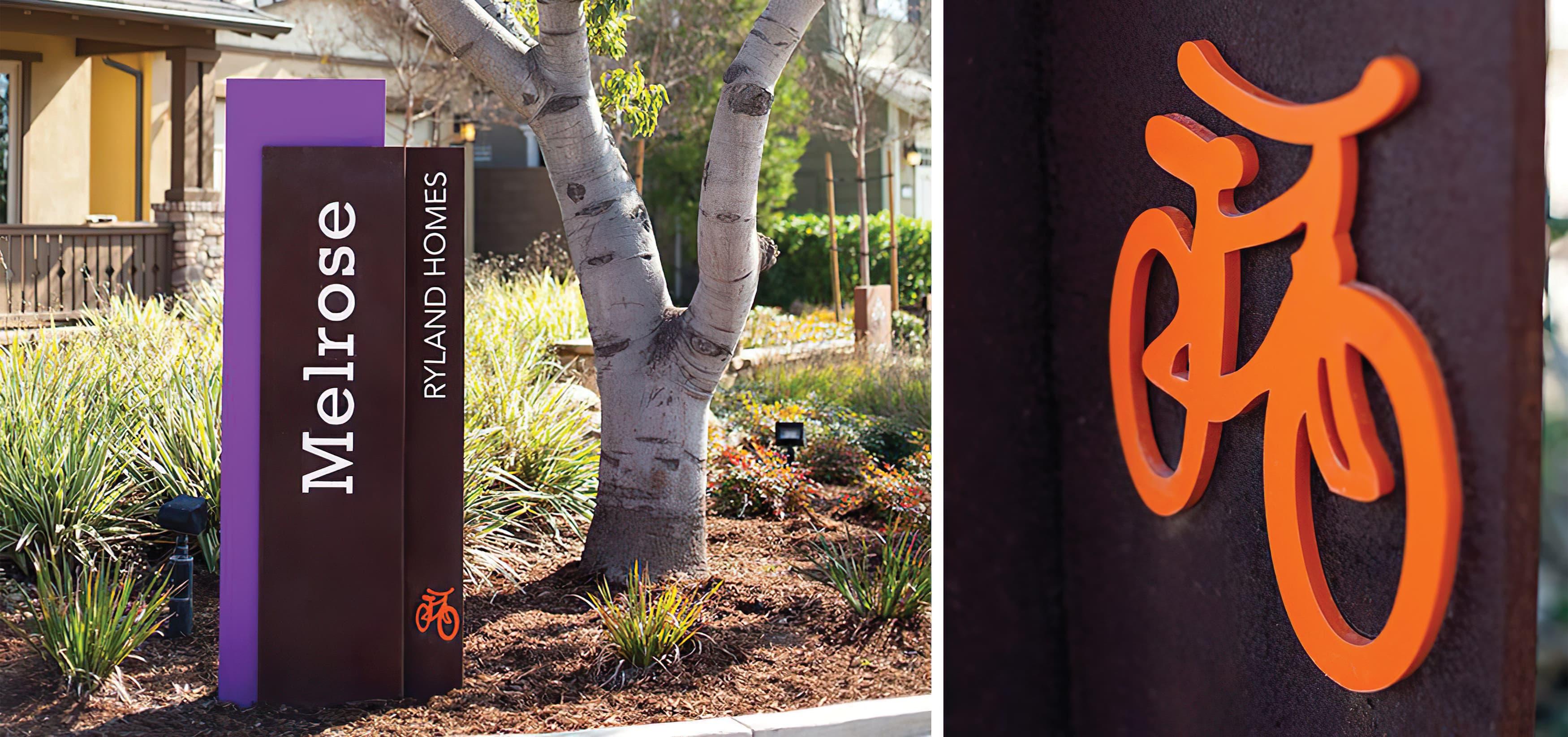 Pavilion Park. Irvine Great Park. Residential Community Park Design. Park Identity Signage Detail.